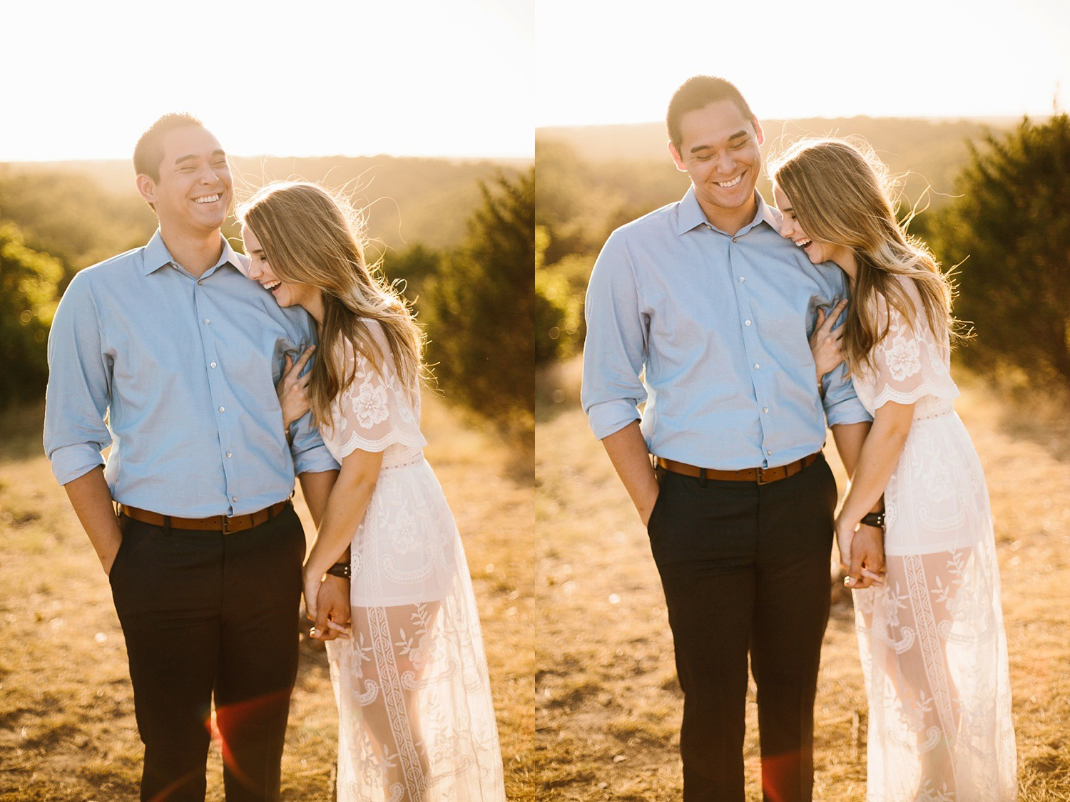 a romantic, adventurous engagement session at Turner Falls in Oklahoma by North Texas Wedding Photographer, Rachel Meagan Photography _ 36