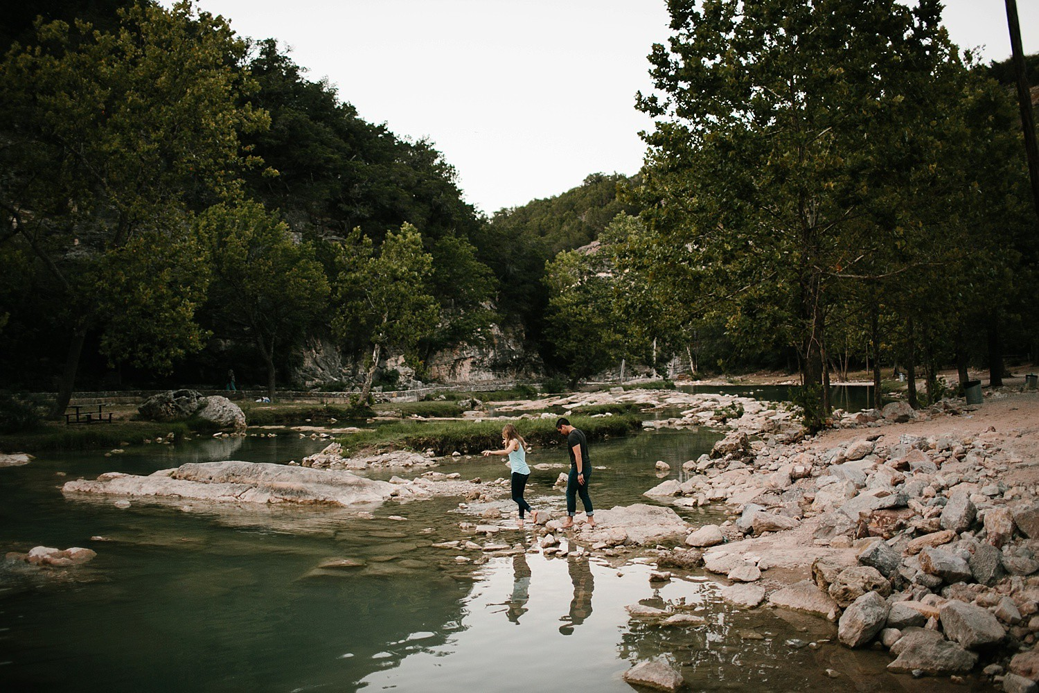 a romantic, adventurous engagement session at Turner Falls in Oklahoma by North Texas Wedding Photographer, Rachel Meagan Photography _ 51