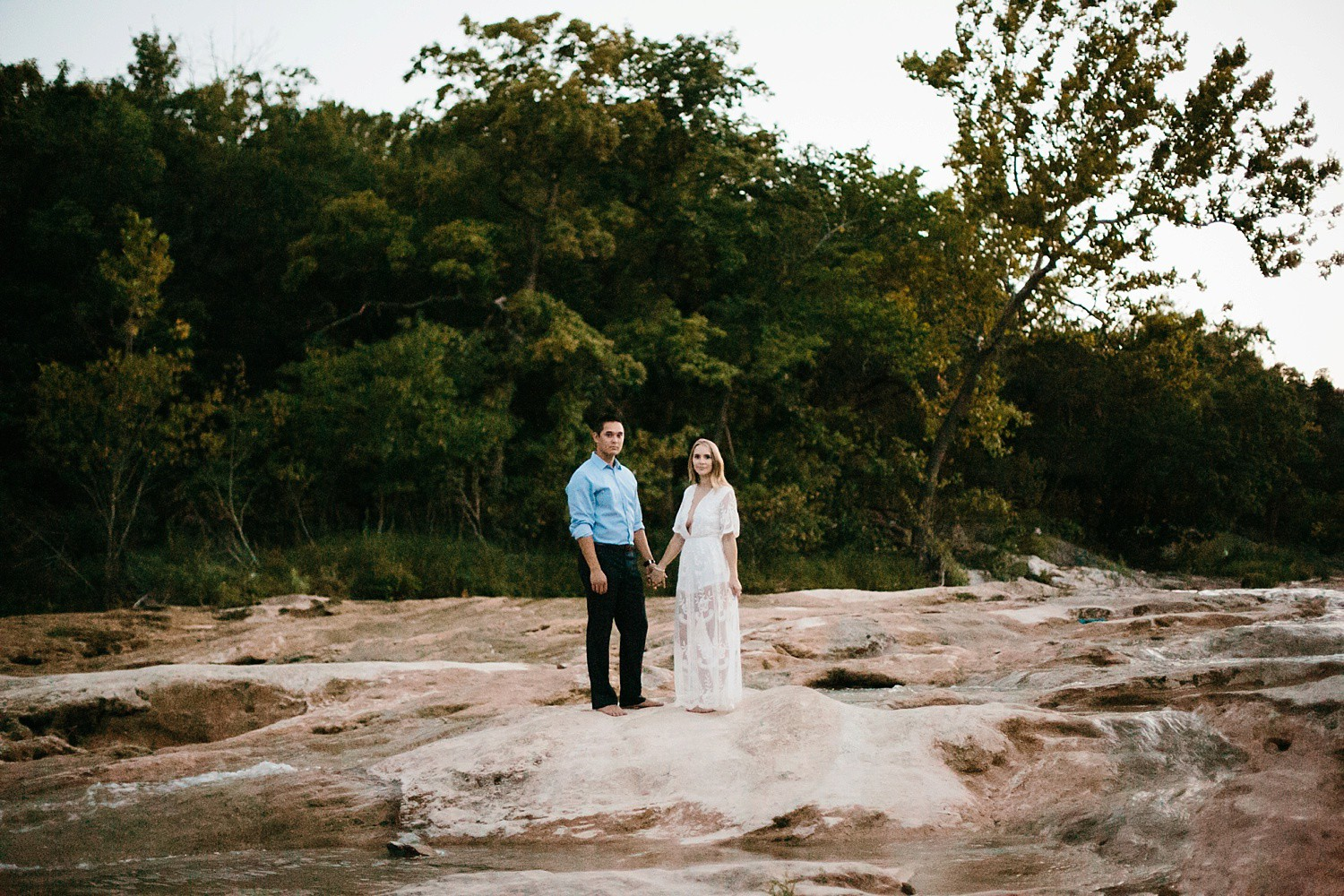a romantic, adventurous engagement session at Turner Falls in Oklahoma by North Texas Wedding Photographer, Rachel Meagan Photography _ 56