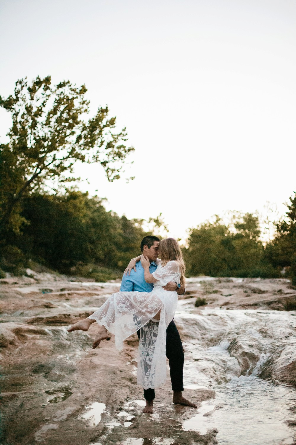 a romantic, adventurous engagement session at Turner Falls in Oklahoma by North Texas Wedding Photographer, Rachel Meagan Photography _ 57