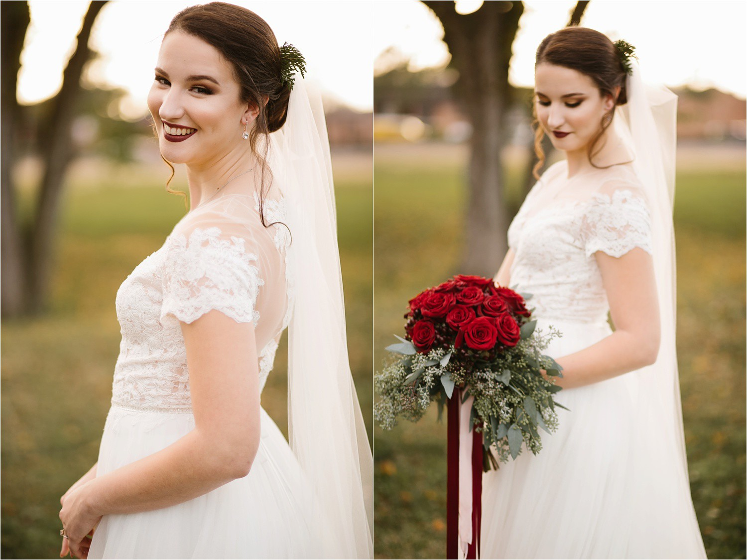 Alaina + Josh __ a wintertime wedding in Houston, TX with Christmas accents and a BHLDN dress by North Texas Wedding Photographer Rachel Meagan Photography _ 18