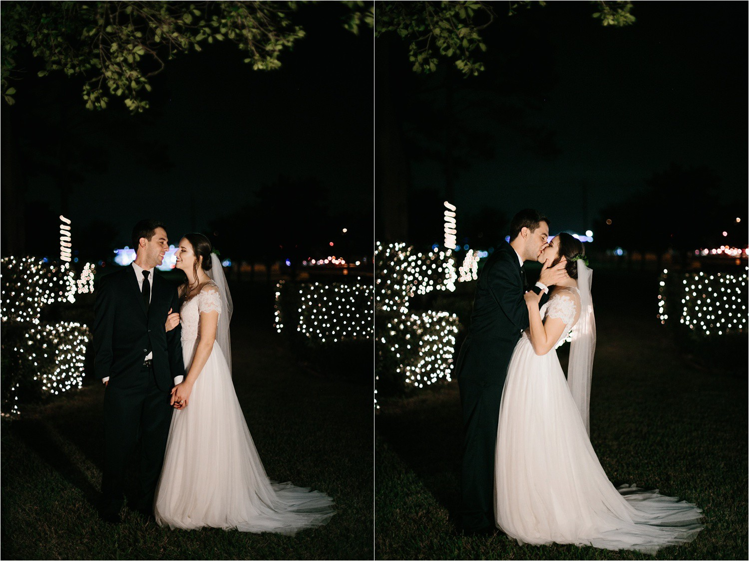 Alaina + Josh __ a wintertime wedding in Houston, TX with Christmas accents and a BHLDN dress by North Texas Wedding Photographer Rachel Meagan Photography _ 53