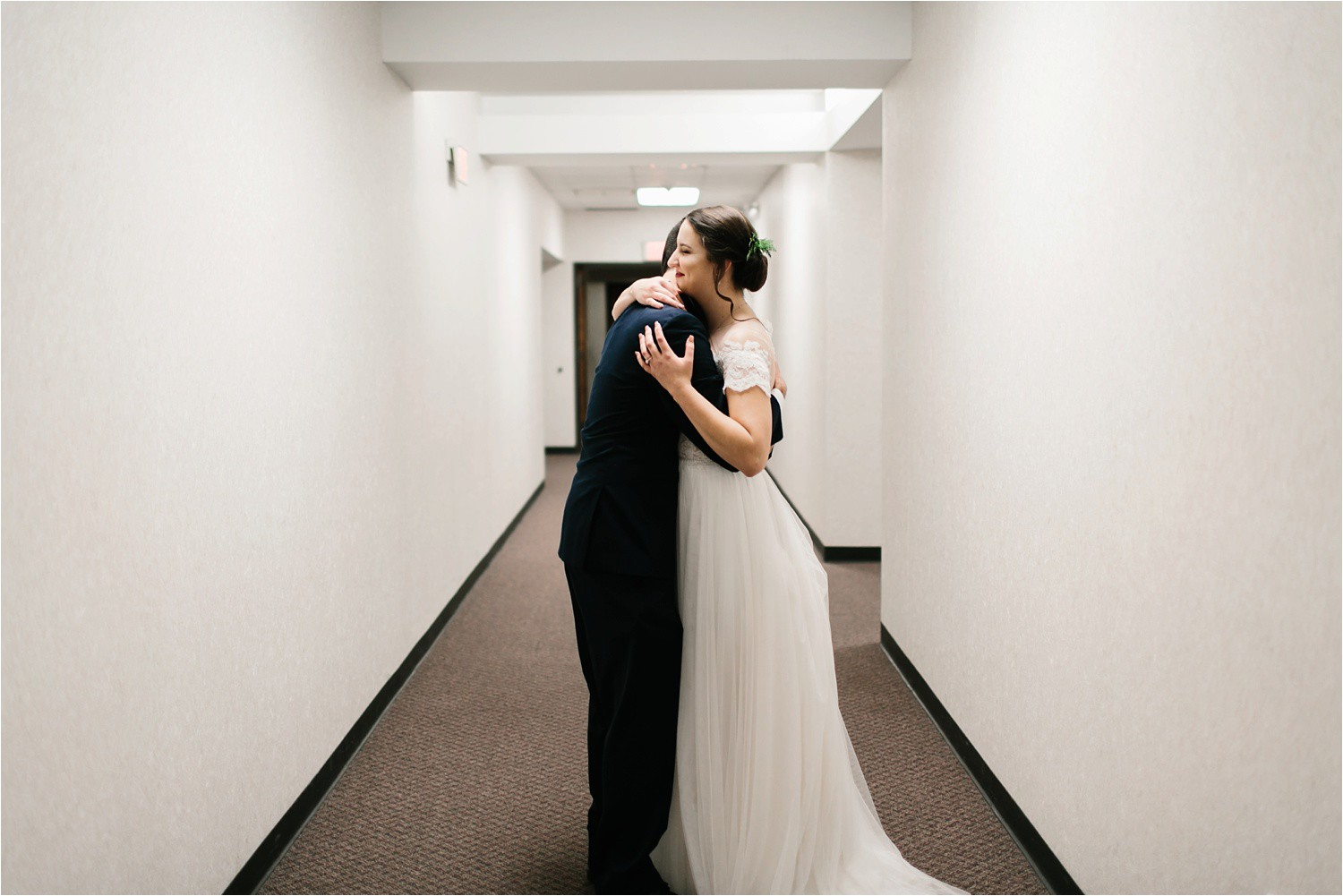 Alaina + Josh __ a wintertime wedding in Houston, TX with Christmas accents and a BHLDN dress by North Texas Wedding Photographer Rachel Meagan Photography _ 58