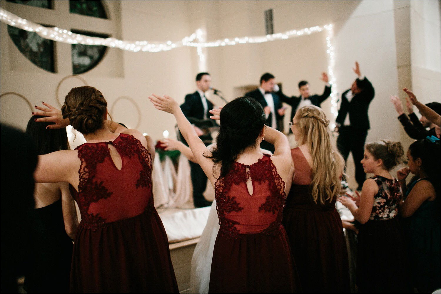 Alaina + Josh __ a wintertime wedding in Houston, TX with Christmas accents and a BHLDN dress by North Texas Wedding Photographer Rachel Meagan Photography _ 83