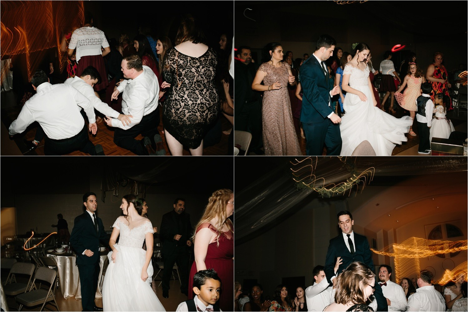 Alaina + Josh __ a wintertime wedding in Houston, TX with Christmas accents and a BHLDN dress by North Texas Wedding Photographer Rachel Meagan Photography _ 87