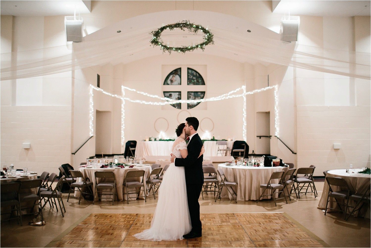 Alaina + Josh __ a wintertime wedding in Houston, TX with Christmas accents and a BHLDN dress by North Texas Wedding Photographer Rachel Meagan Photography _ 88