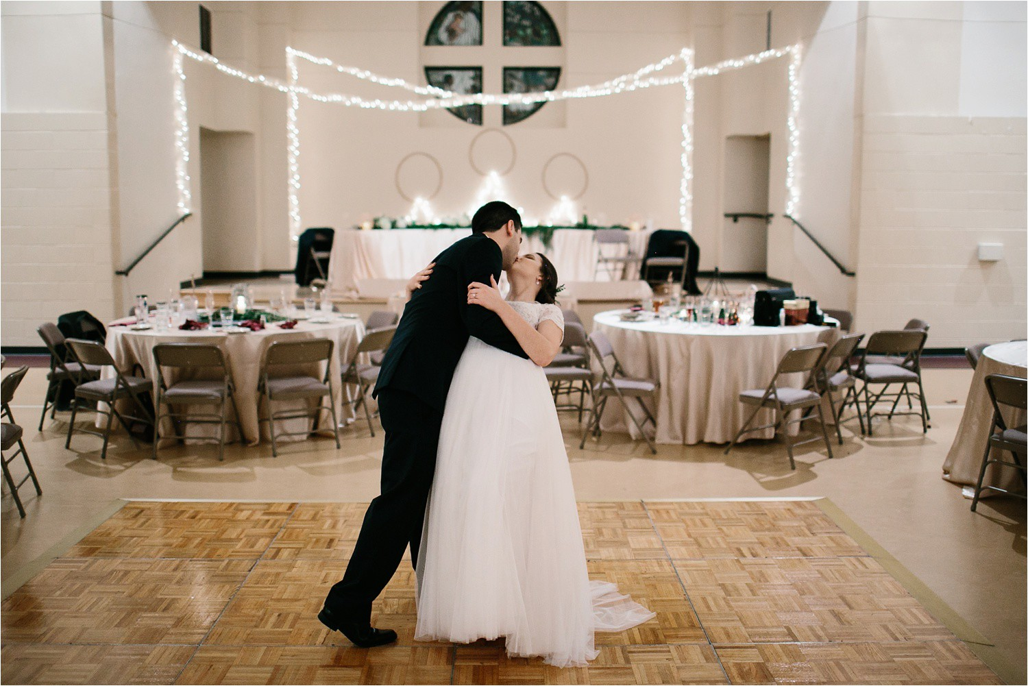 Alaina + Josh __ a wintertime wedding in Houston, TX with Christmas accents and a BHLDN dress by North Texas Wedding Photographer Rachel Meagan Photography _ 94