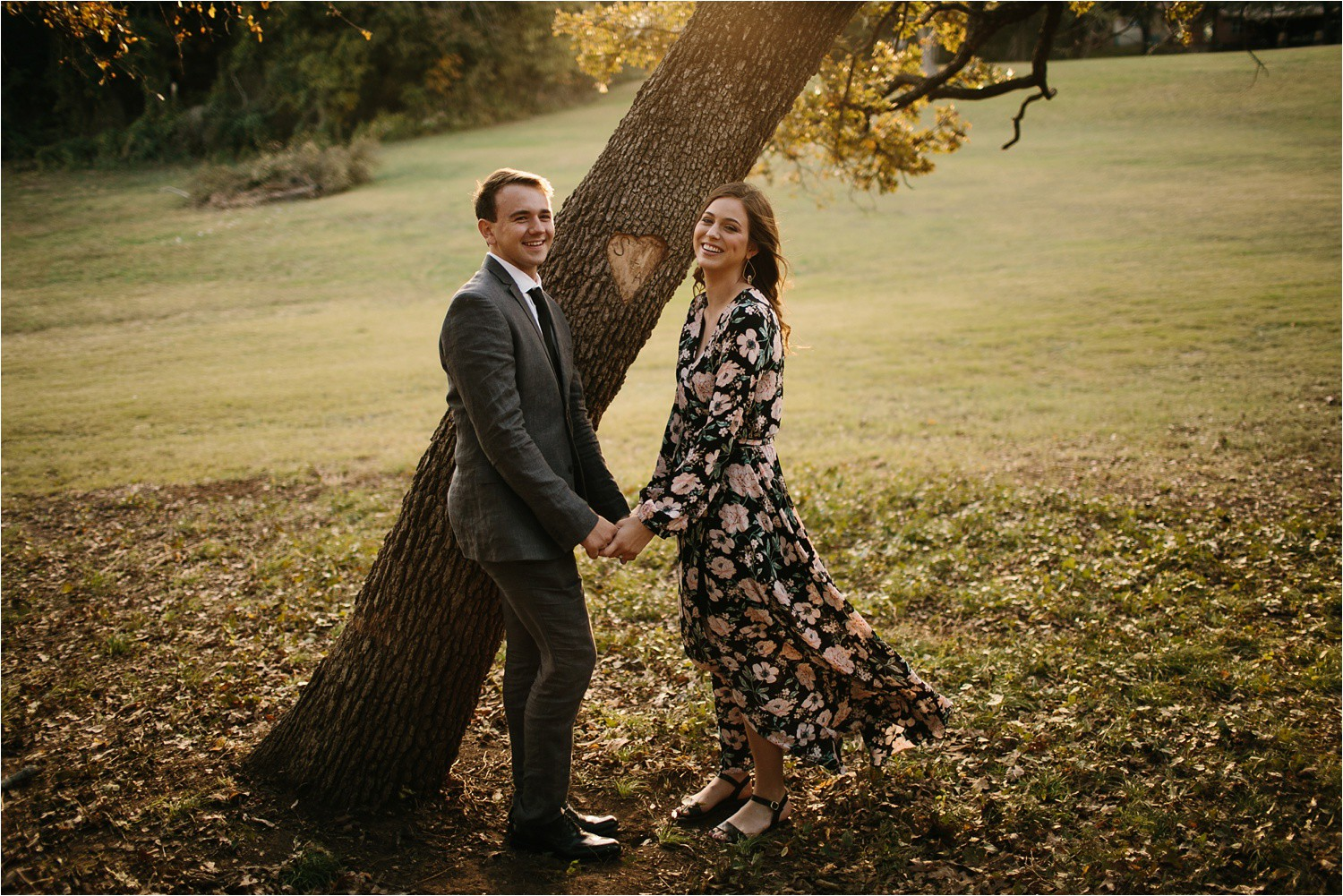 Aleta + Sabian __ a windy lakeside nature engagement session by North Texas Wedding Photographer Rachel Meagan Photography _02