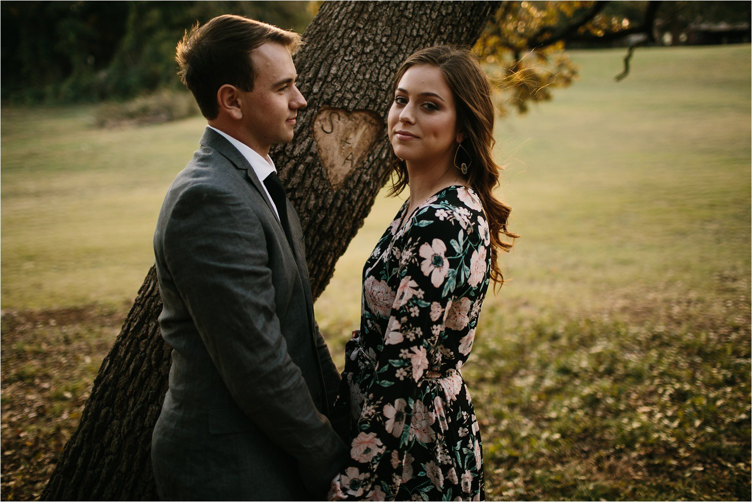 Aleta + Sabian __ a windy lakeside nature engagement session by North Texas Wedding Photographer Rachel Meagan Photography _04