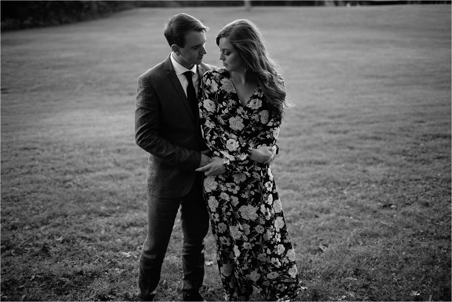 Aleta + Sabian __ a windy lakeside nature engagement session by North Texas Wedding Photographer Rachel Meagan Photography _10