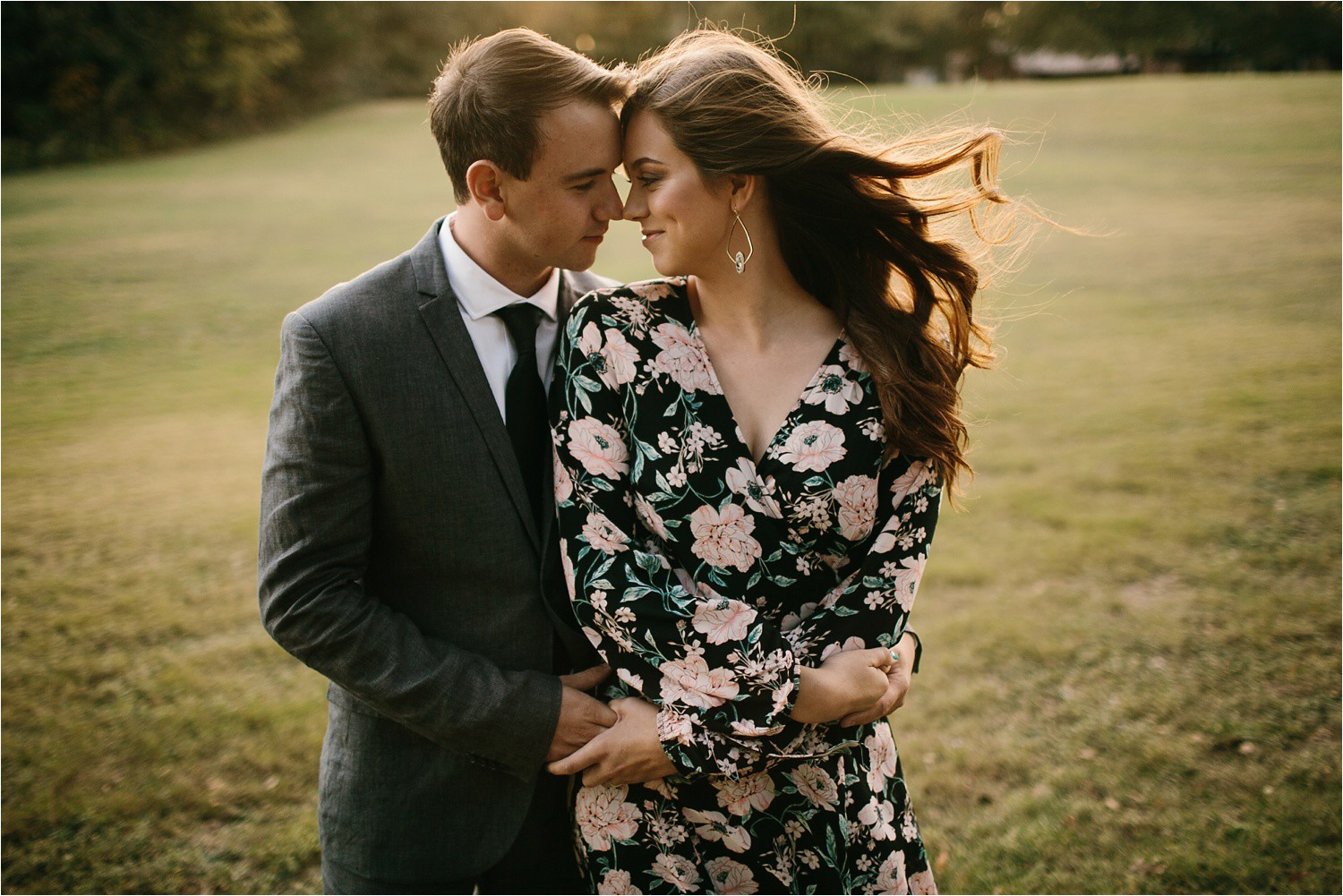 Aleta + Sabian __ a windy lakeside nature engagement session by North Texas Wedding Photographer Rachel Meagan Photography _11