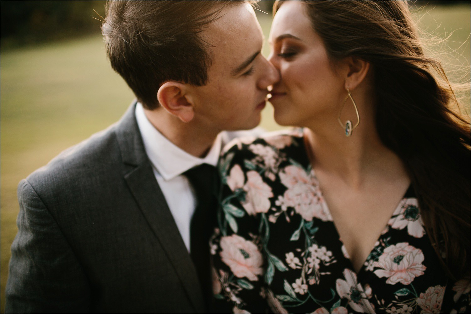 Aleta + Sabian __ a windy lakeside nature engagement session by North Texas Wedding Photographer Rachel Meagan Photography _13