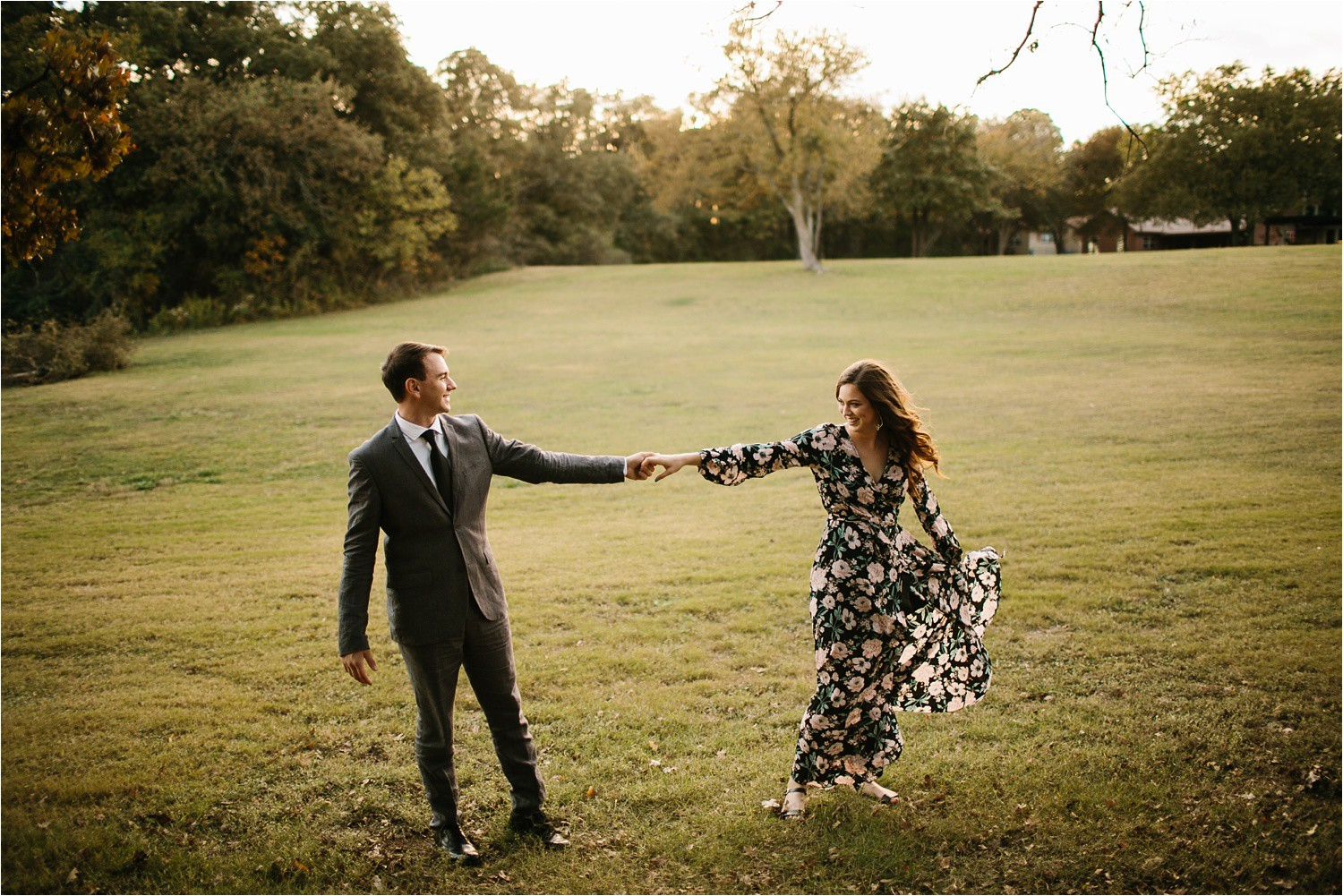 Aleta + Sabian __ a windy lakeside nature engagement session by North Texas Wedding Photographer Rachel Meagan Photography _15