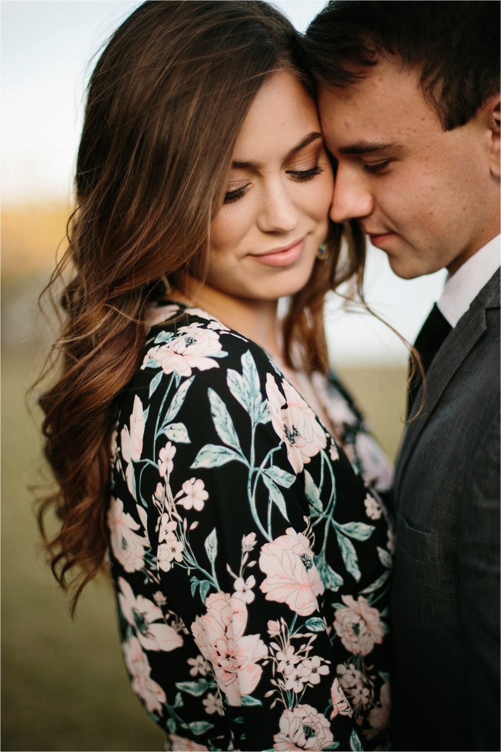 Aleta + Sabian __ a windy lakeside nature engagement session by North Texas Wedding Photographer Rachel Meagan Photography _18