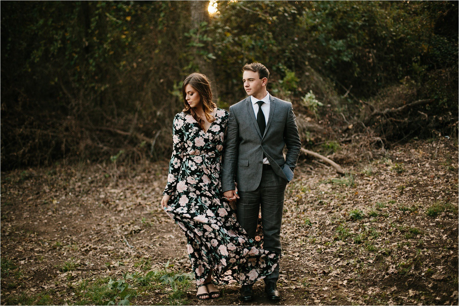 Aleta + Sabian __ a windy lakeside nature engagement session by North Texas Wedding Photographer Rachel Meagan Photography _24