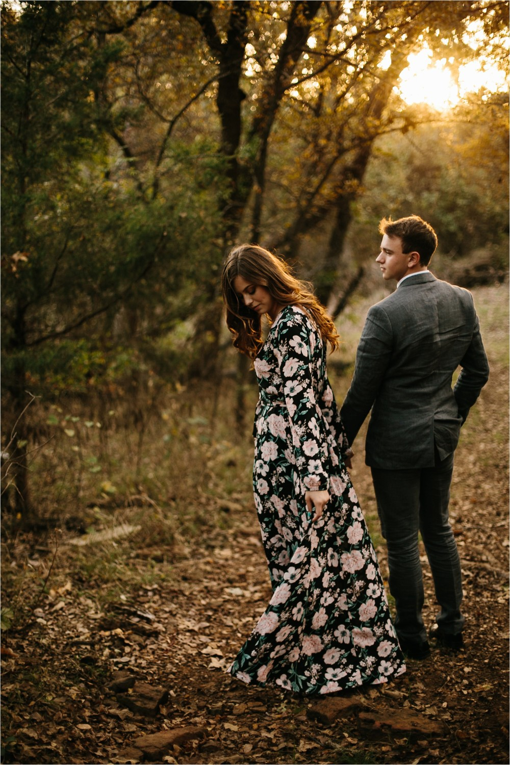 Aleta + Sabian __ a windy lakeside nature engagement session by North Texas Wedding Photographer Rachel Meagan Photography _32