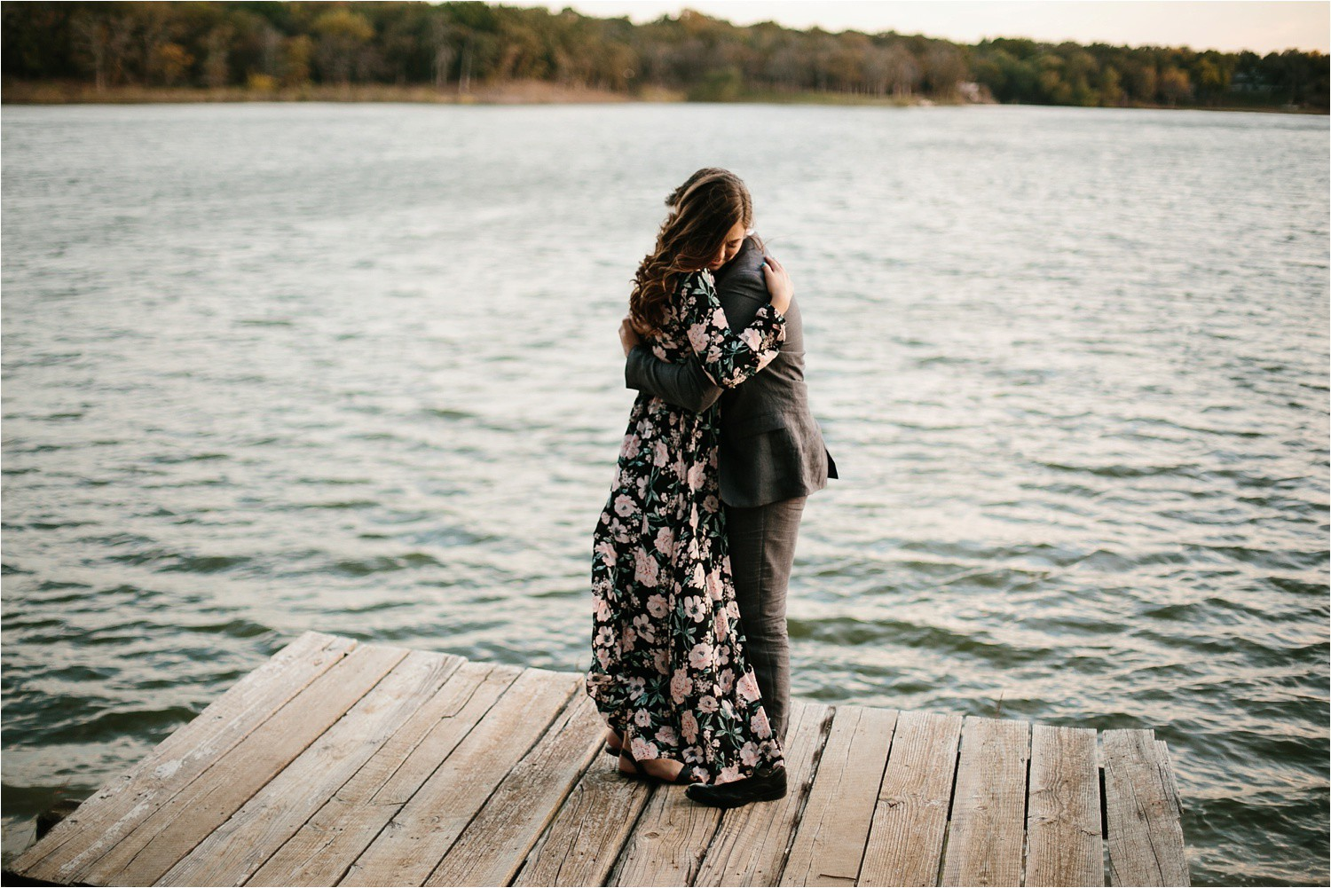 Aleta + Sabian __ a windy lakeside nature engagement session by North Texas Wedding Photographer Rachel Meagan Photography _41