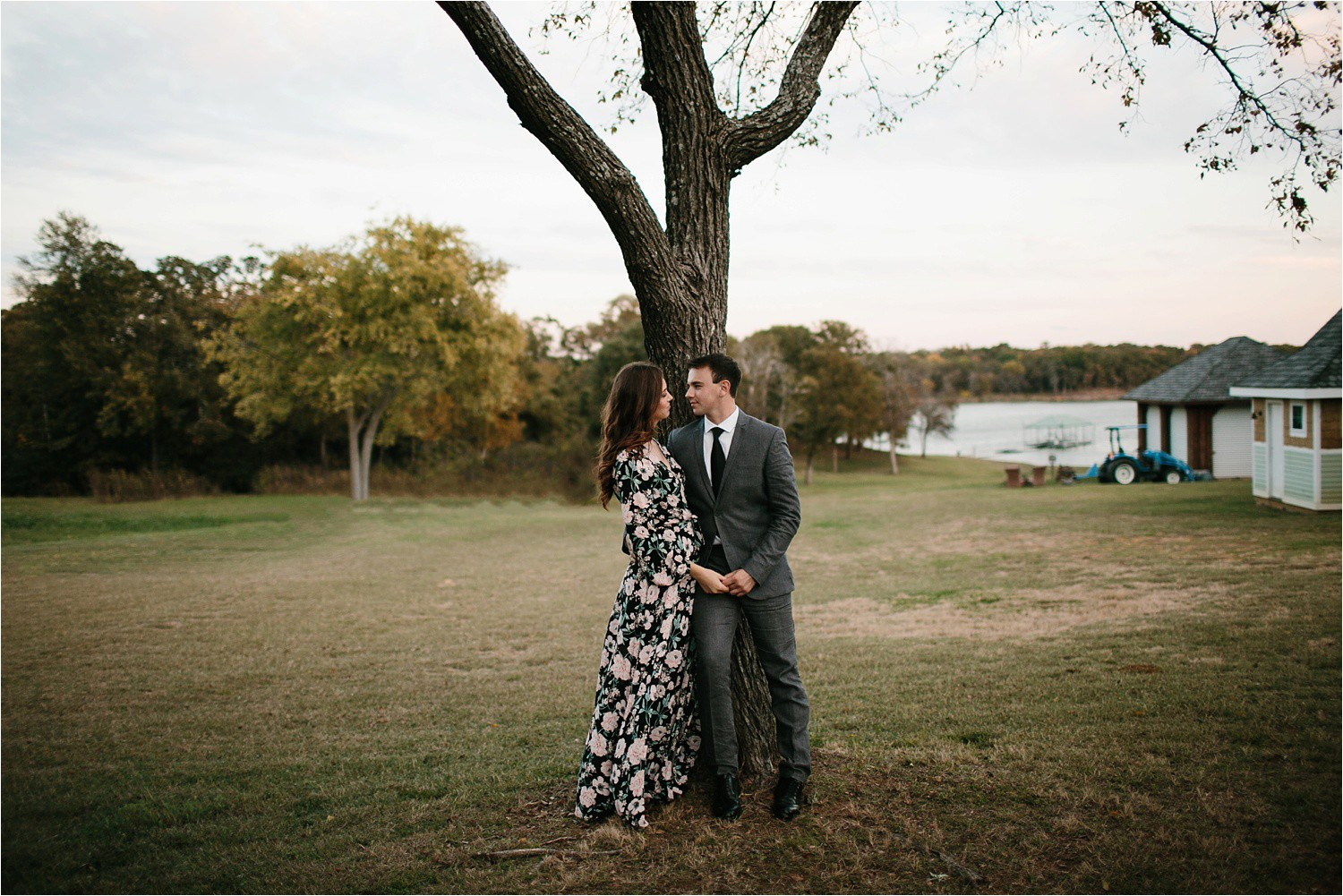 Aleta + Sabian __ a windy lakeside nature engagement session by North Texas Wedding Photographer Rachel Meagan Photography _49