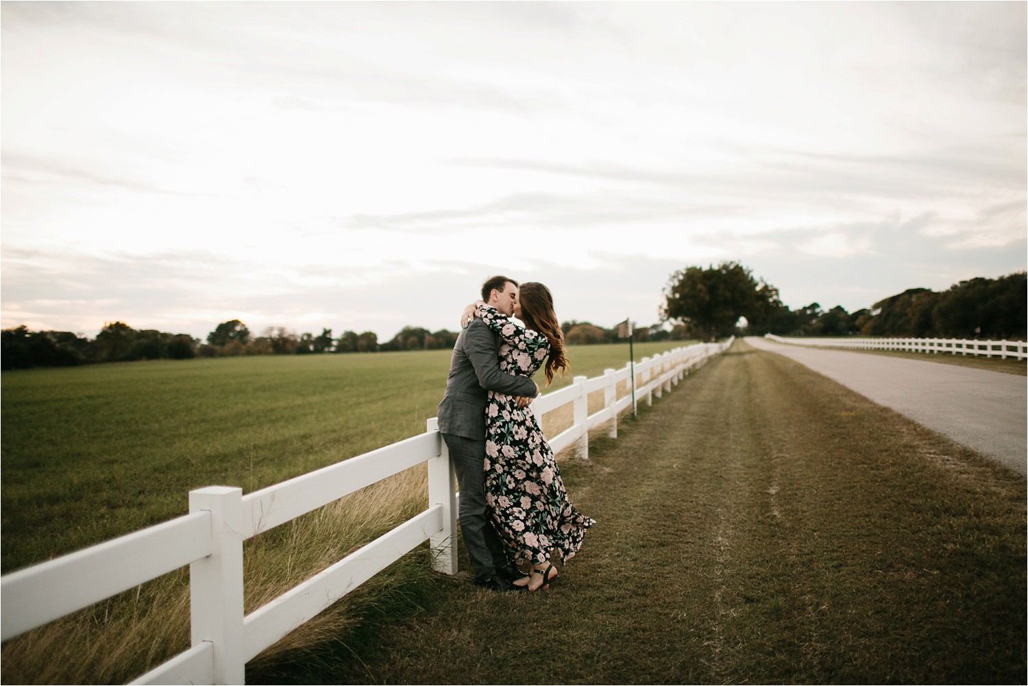 Aleta + Sabian __ a windy lakeside nature engagement session by North Texas Wedding Photographer Rachel Meagan Photography _52