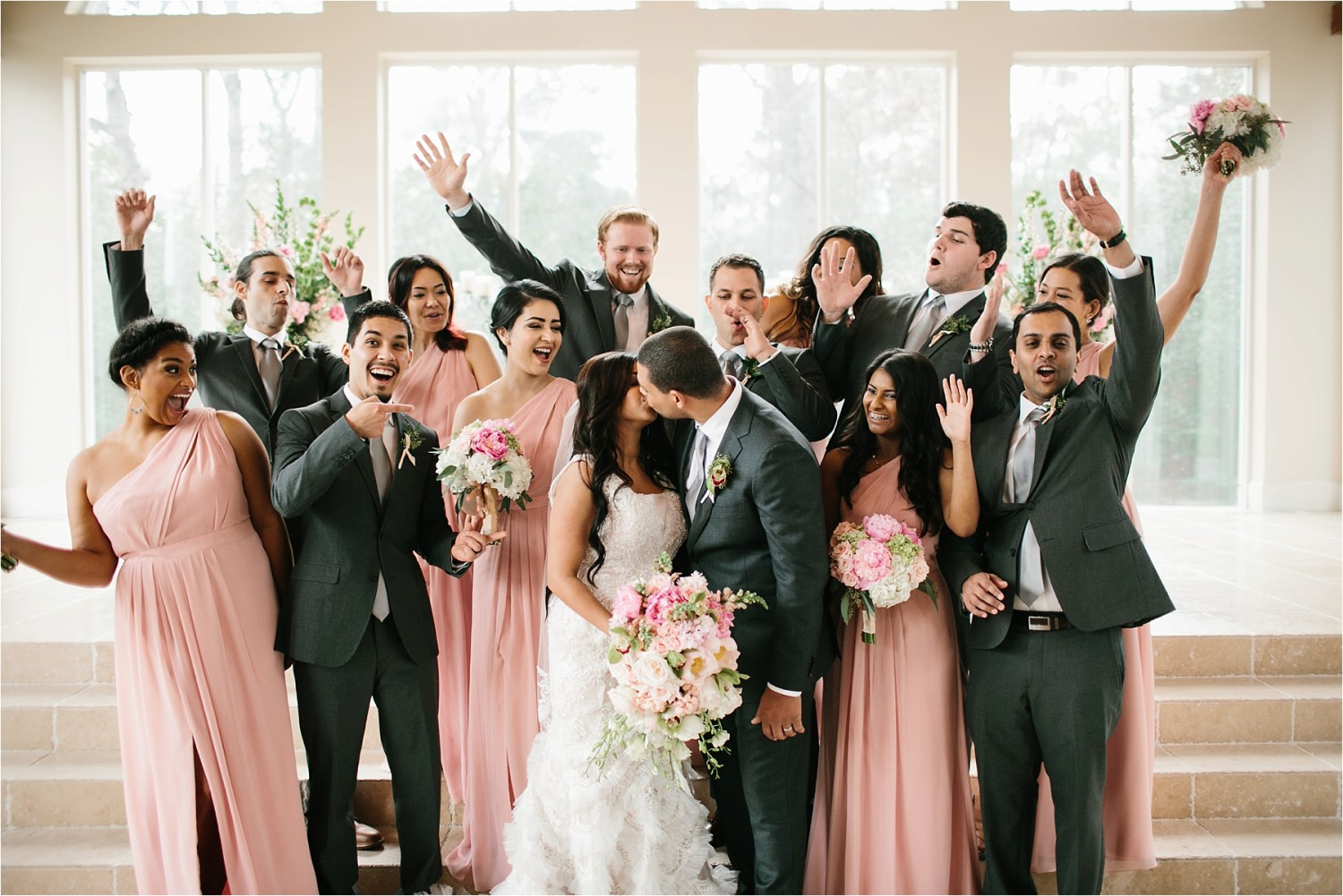 Jeanpaul + Ann __ a colorful wedding at Ashton Gardens in Houston TX by North Texas Wedding Photographer Rachel Meagan Photography _ 33