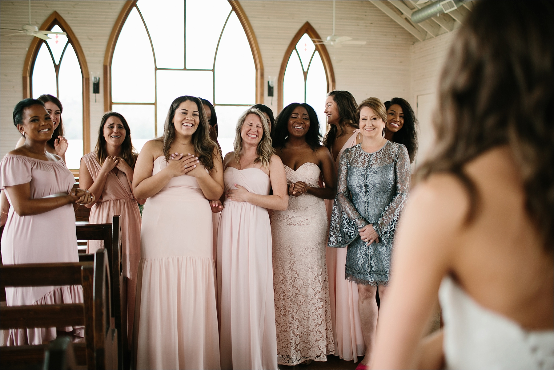 Lauren + Matt __ an intimate, emotional, blush pink, navy blue, and greenery toned wedding accents at the Brooks at Weatherford by North Texas Wedding Photographer Rachel Meagan Photography016
