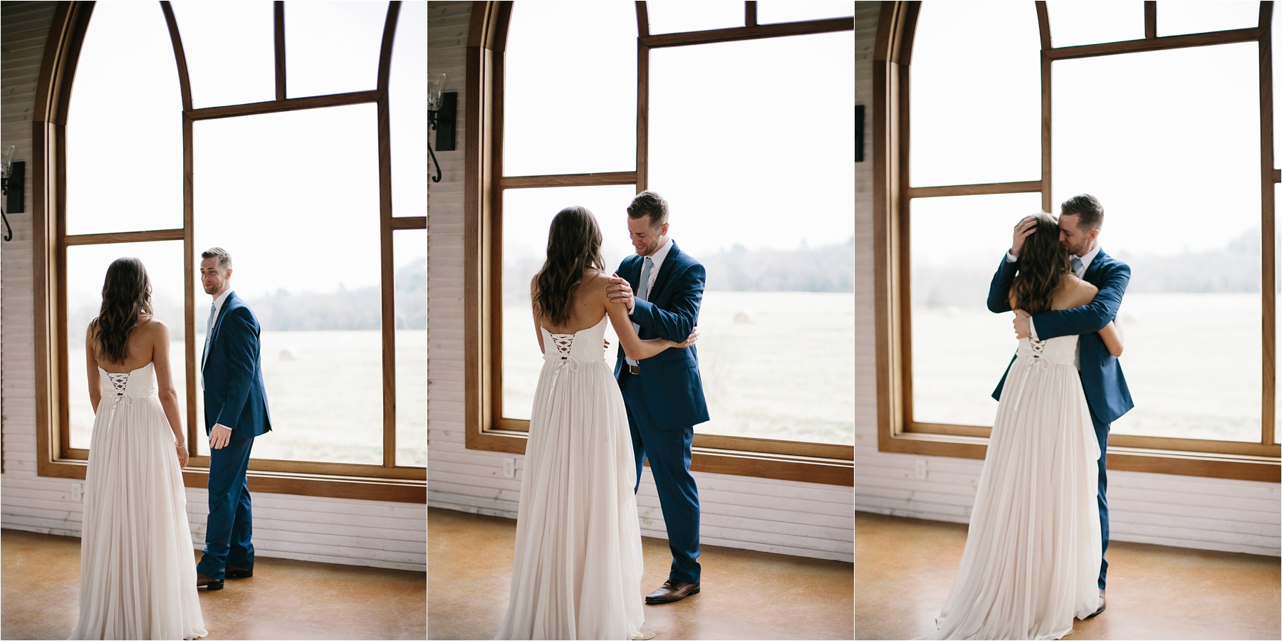 Lauren + Matt __ an intimate, emotional, blush pink, navy blue, and greenery toned wedding accents at the Brooks at Weatherford by North Texas Wedding Photographer Rachel Meagan Photography024