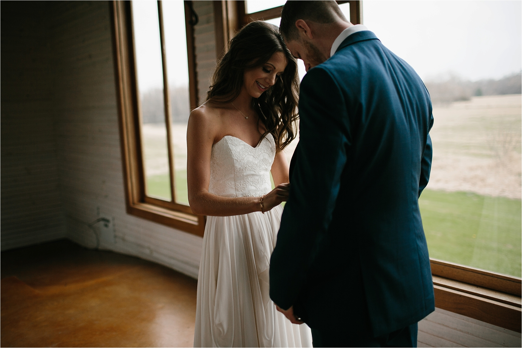 Lauren + Matt __ an intimate, emotional, blush pink, navy blue, and greenery toned wedding accents at the Brooks at Weatherford by North Texas Wedding Photographer Rachel Meagan Photography030