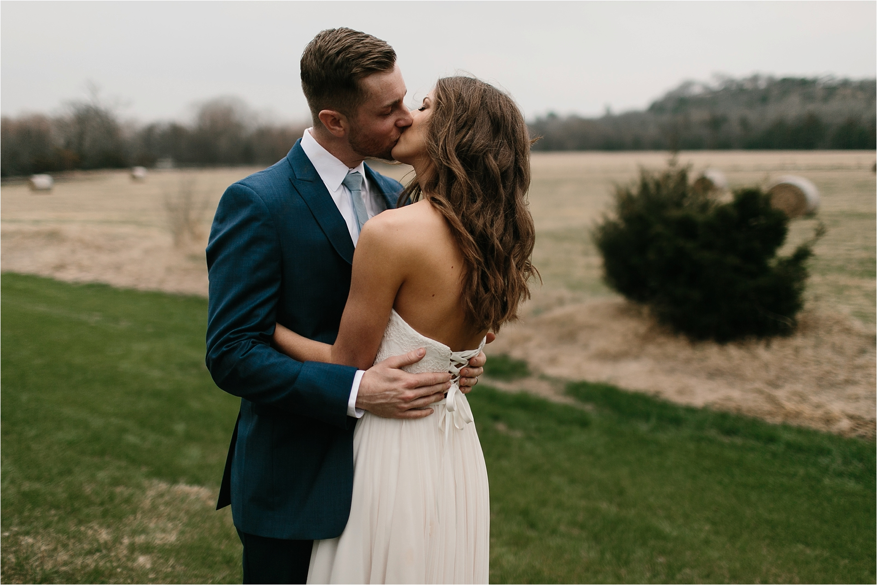 Lauren + Matt __ an intimate, emotional, blush pink, navy blue, and greenery toned wedding accents at the Brooks at Weatherford by North Texas Wedding Photographer Rachel Meagan Photography043