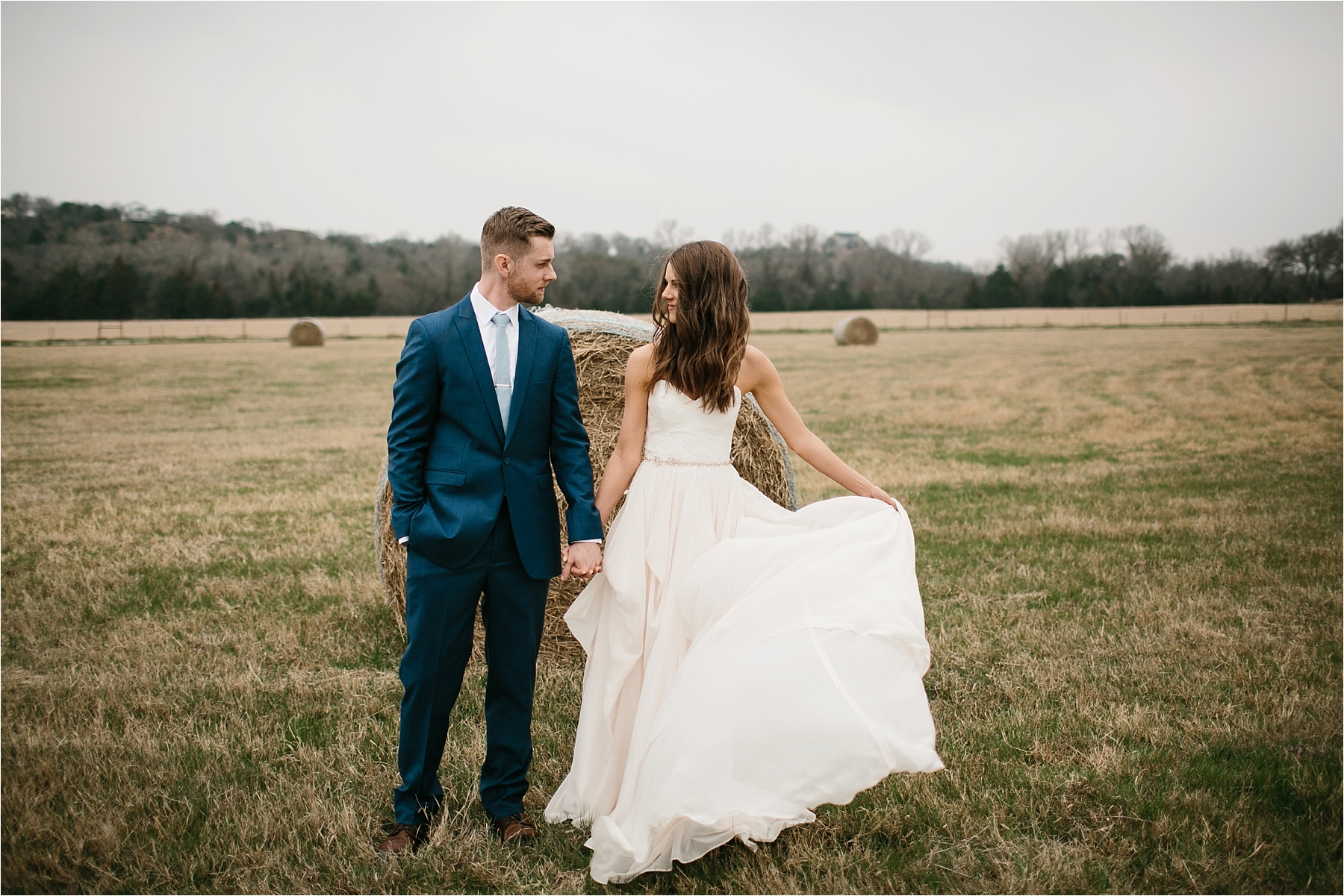 Lauren + Matt __ an intimate, emotional, blush pink, navy blue, and greenery toned wedding accents at the Brooks at Weatherford by North Texas Wedding Photographer Rachel Meagan Photography055