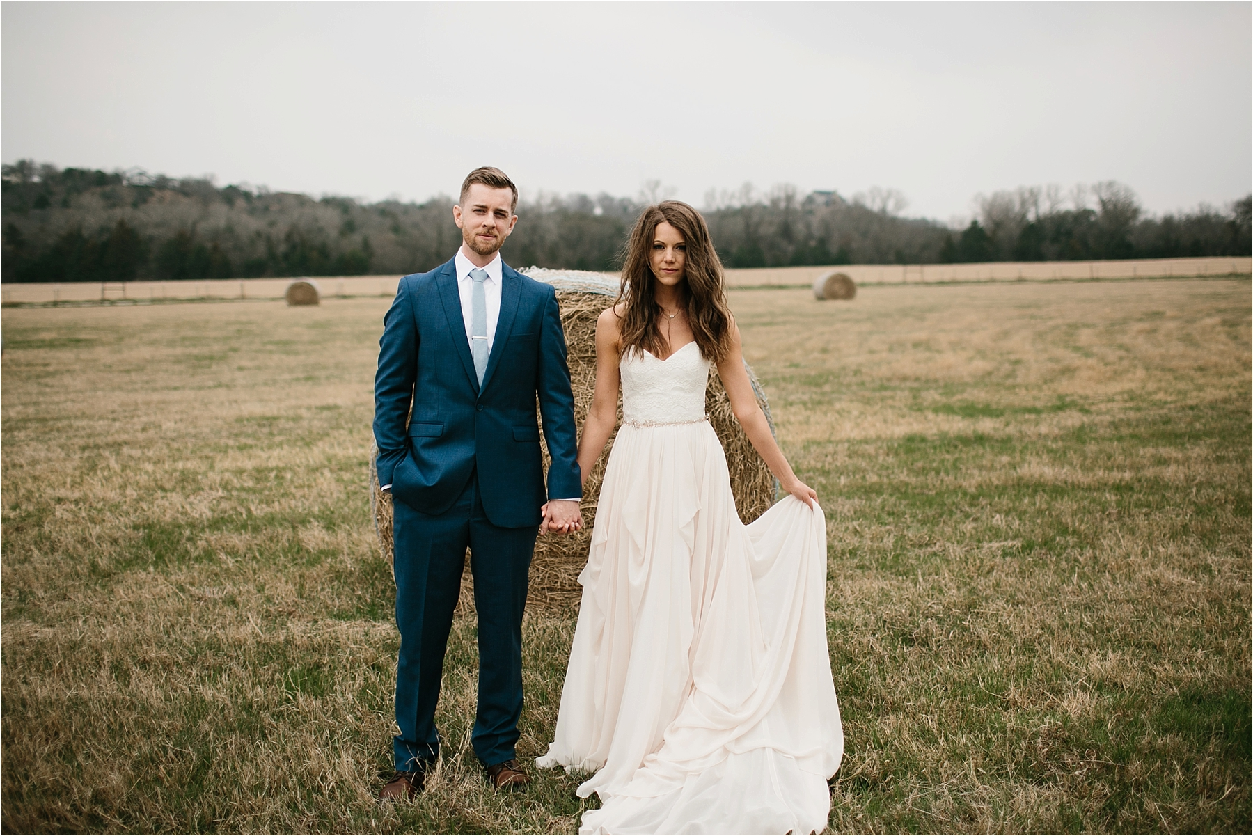 Lauren + Matt __ an intimate, emotional, blush pink, navy blue, and greenery toned wedding accents at the Brooks at Weatherford by North Texas Wedding Photographer Rachel Meagan Photography056