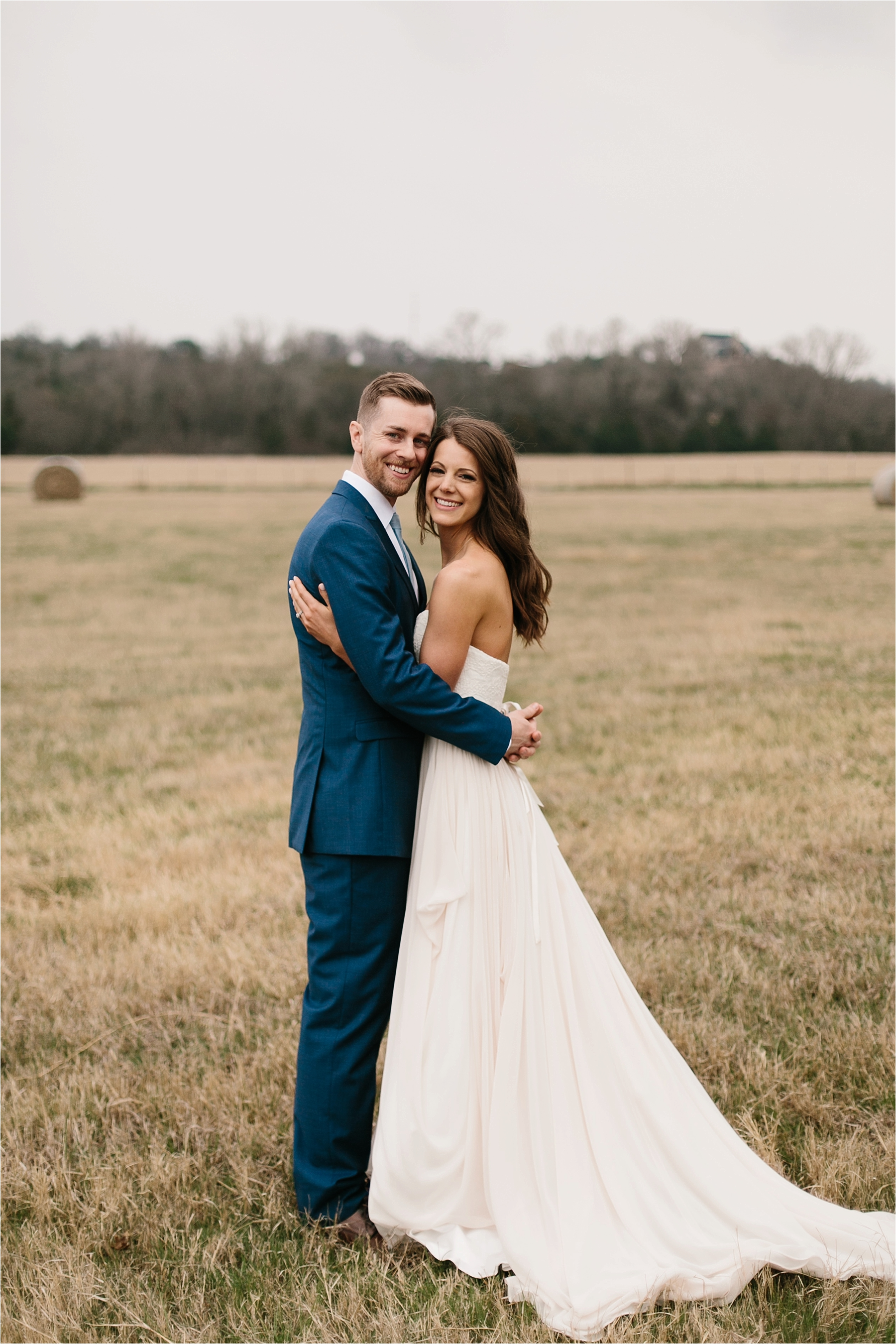 Lauren + Matt __ an intimate, emotional, blush pink, navy blue, and greenery toned wedding accents at the Brooks at Weatherford by North Texas Wedding Photographer Rachel Meagan Photography067