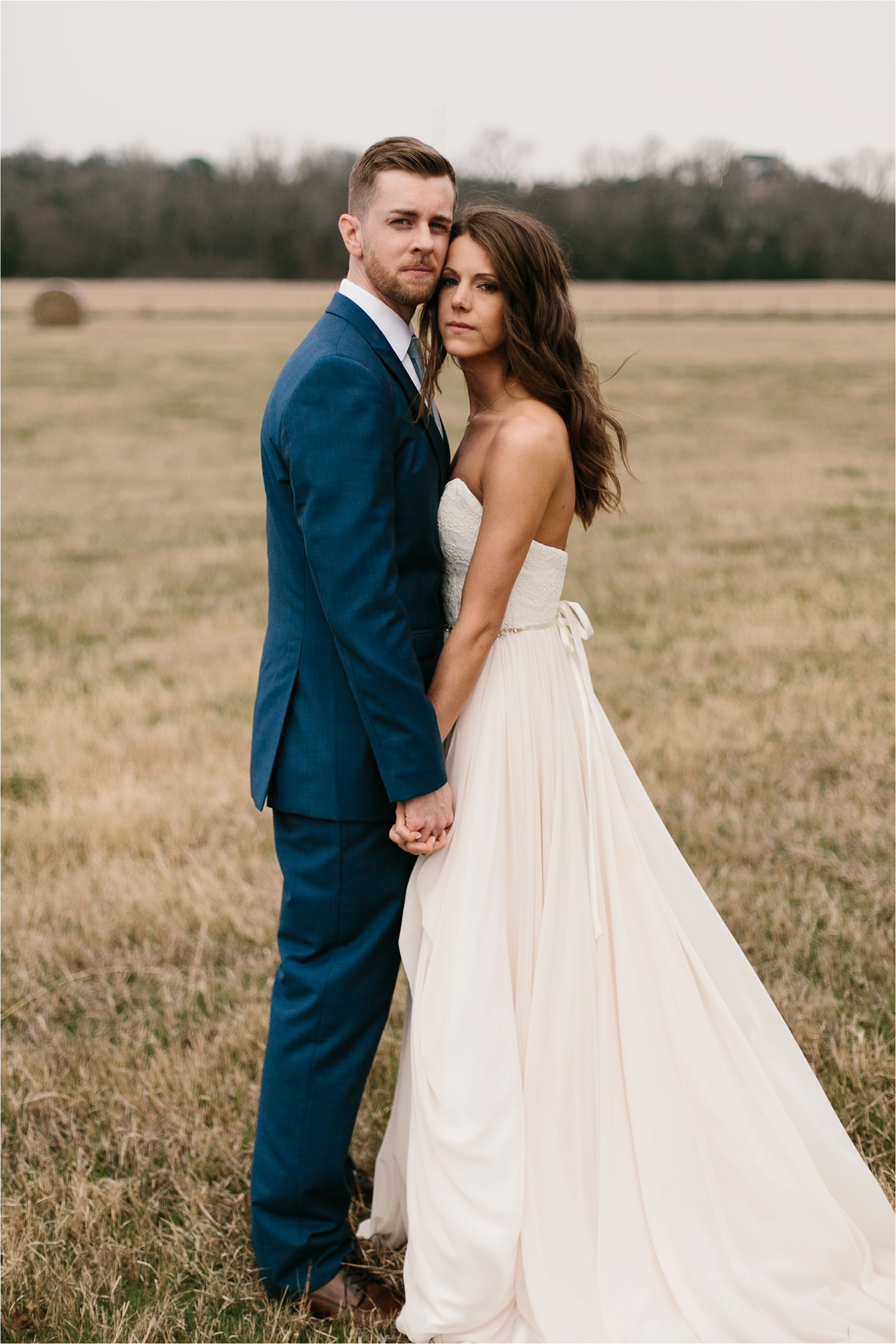 Lauren + Matt __ an intimate, emotional, blush pink, navy blue, and greenery toned wedding accents at the Brooks at Weatherford by North Texas Wedding Photographer Rachel Meagan Photography068