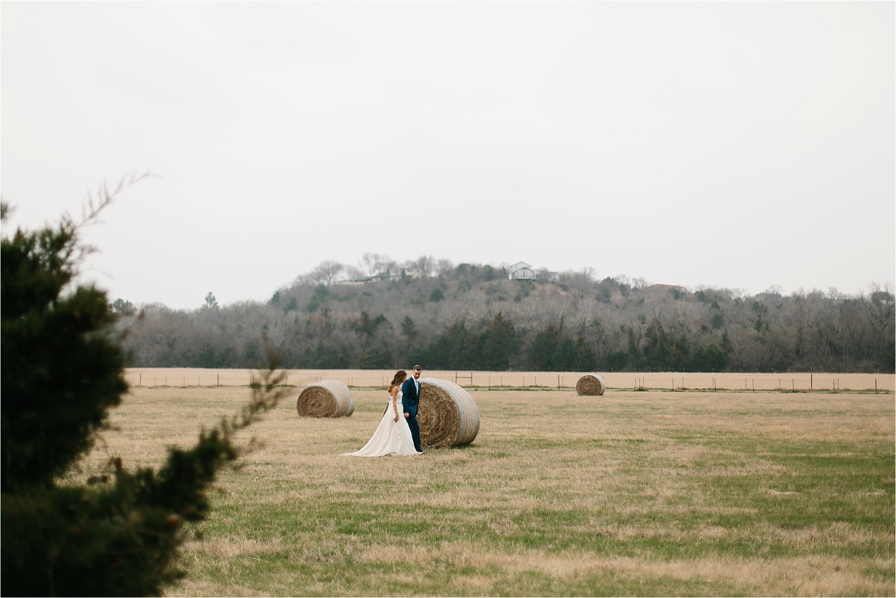 Lauren + Matt __ an intimate, emotional, blush pink, navy blue, and greenery toned wedding accents at the Brooks at Weatherford by North Texas Wedding Photographer Rachel Meagan Photography069