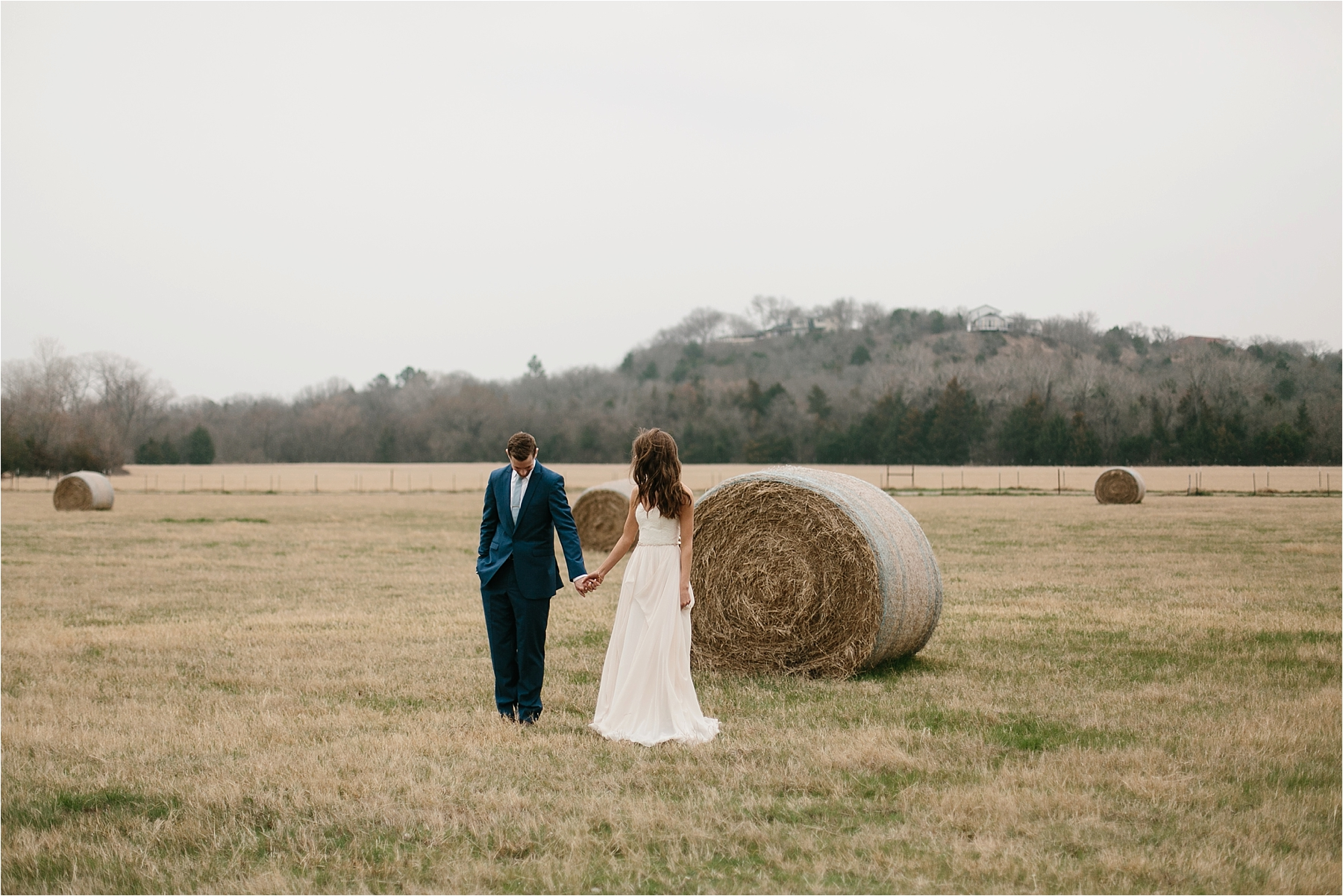Lauren + Matt __ an intimate, emotional, blush pink, navy blue, and greenery toned wedding accents at the Brooks at Weatherford by North Texas Wedding Photographer Rachel Meagan Photography070
