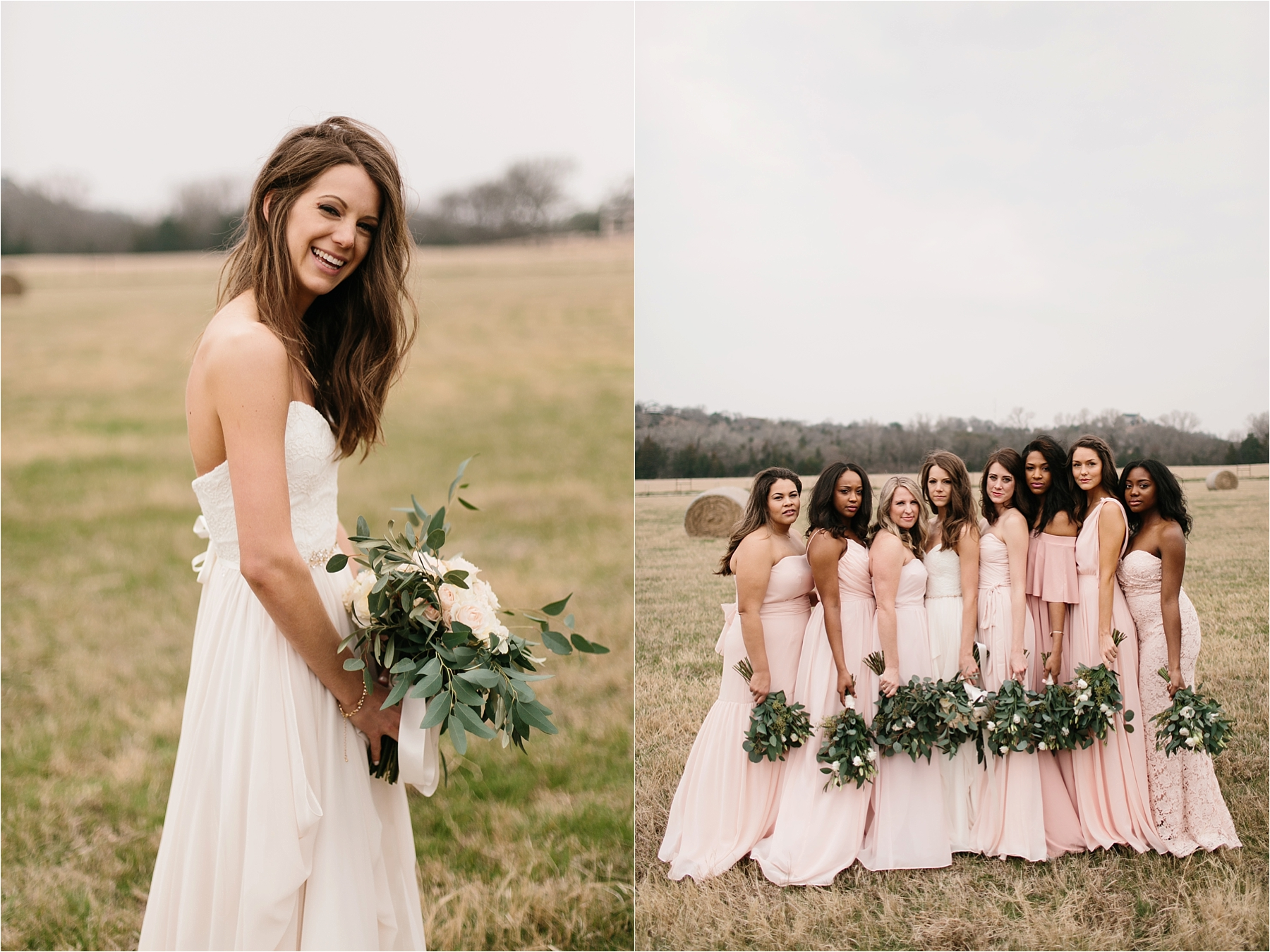 Lauren + Matt __ an intimate, emotional, blush pink, navy blue, and greenery toned wedding accents at the Brooks at Weatherford by North Texas Wedding Photographer Rachel Meagan Photography071