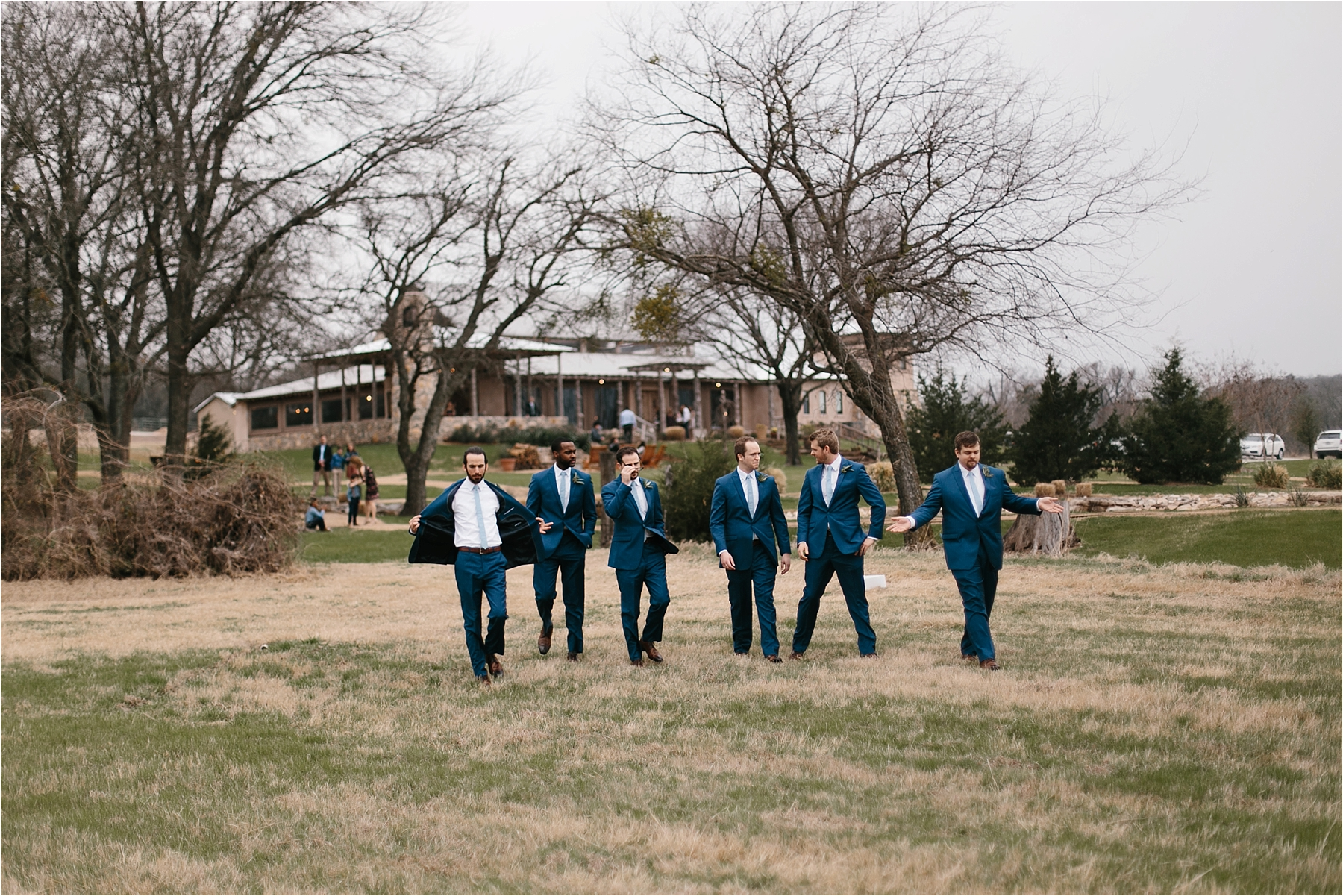 Lauren + Matt __ an intimate, emotional, blush pink, navy blue, and greenery toned wedding accents at the Brooks at Weatherford by North Texas Wedding Photographer Rachel Meagan Photography072