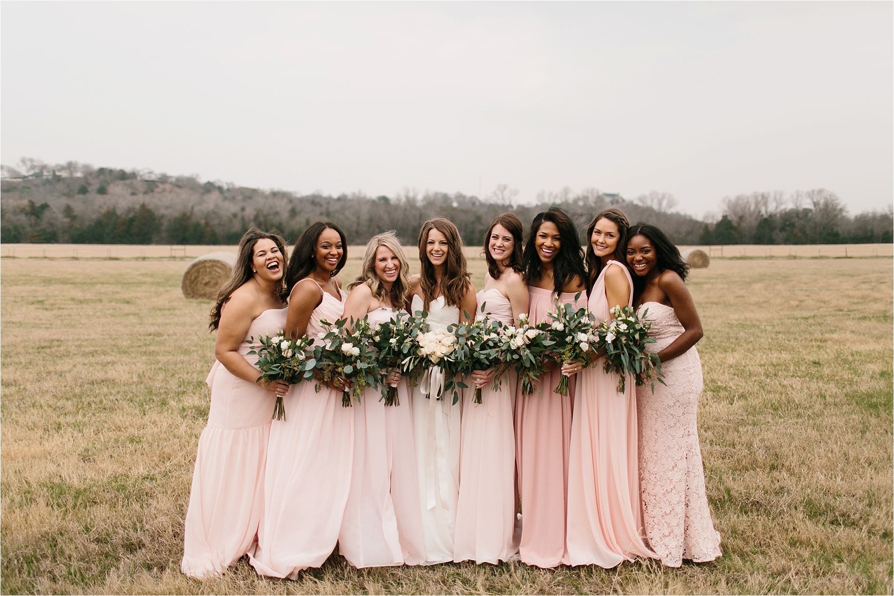 Lauren + Matt __ an intimate, emotional, blush pink, navy blue, and greenery toned wedding accents at the Brooks at Weatherford by North Texas Wedding Photographer Rachel Meagan Photography073