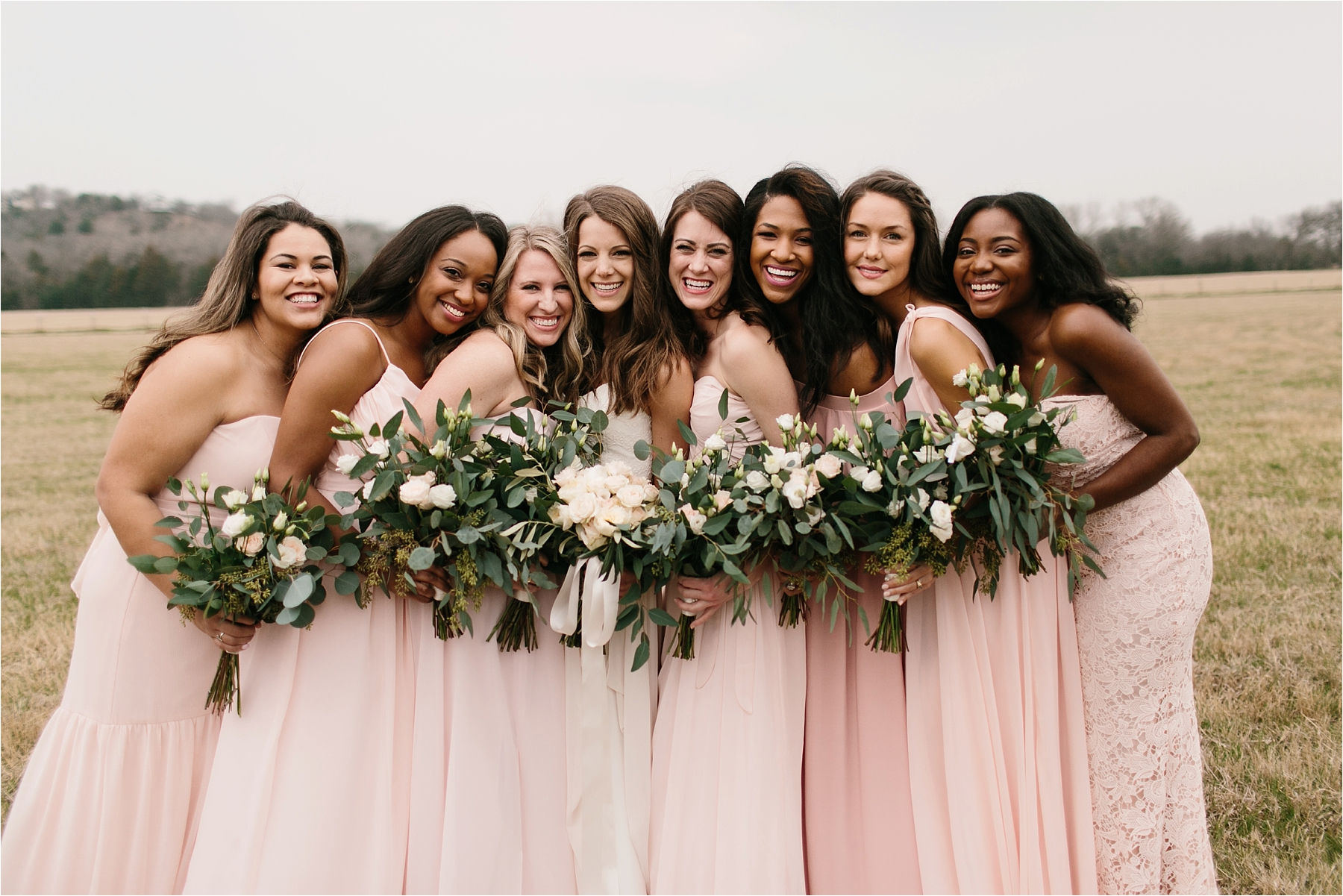 Lauren + Matt __ an intimate, emotional, blush pink, navy blue, and greenery toned wedding accents at the Brooks at Weatherford by North Texas Wedding Photographer Rachel Meagan Photography074