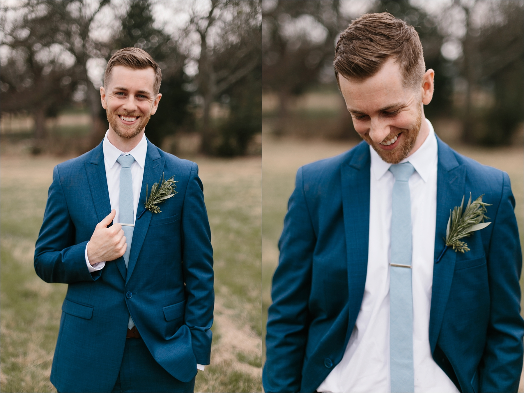Lauren + Matt __ an intimate, emotional, blush pink, navy blue, and greenery toned wedding accents at the Brooks at Weatherford by North Texas Wedding Photographer Rachel Meagan Photography075