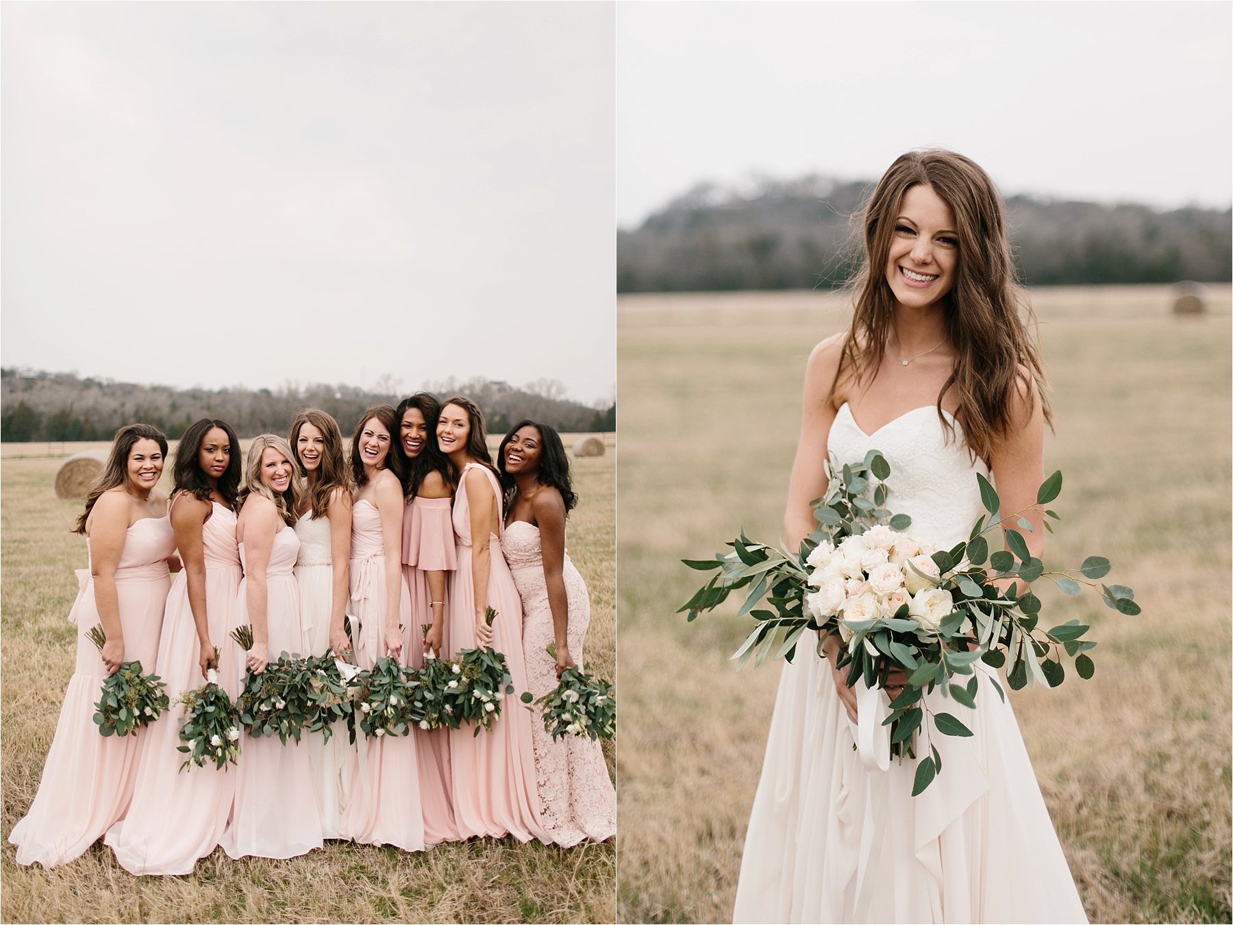 Lauren + Matt __ an intimate, emotional, blush pink, navy blue, and greenery toned wedding accents at the Brooks at Weatherford by North Texas Wedding Photographer Rachel Meagan Photography077