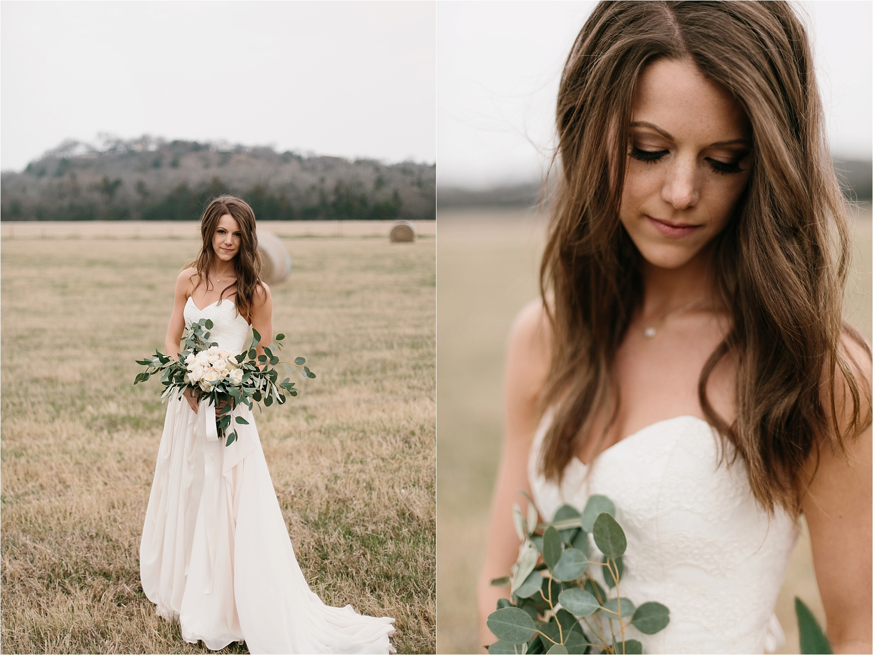 Lauren + Matt __ an intimate, emotional, blush pink, navy blue, and greenery toned wedding accents at the Brooks at Weatherford by North Texas Wedding Photographer Rachel Meagan Photography083