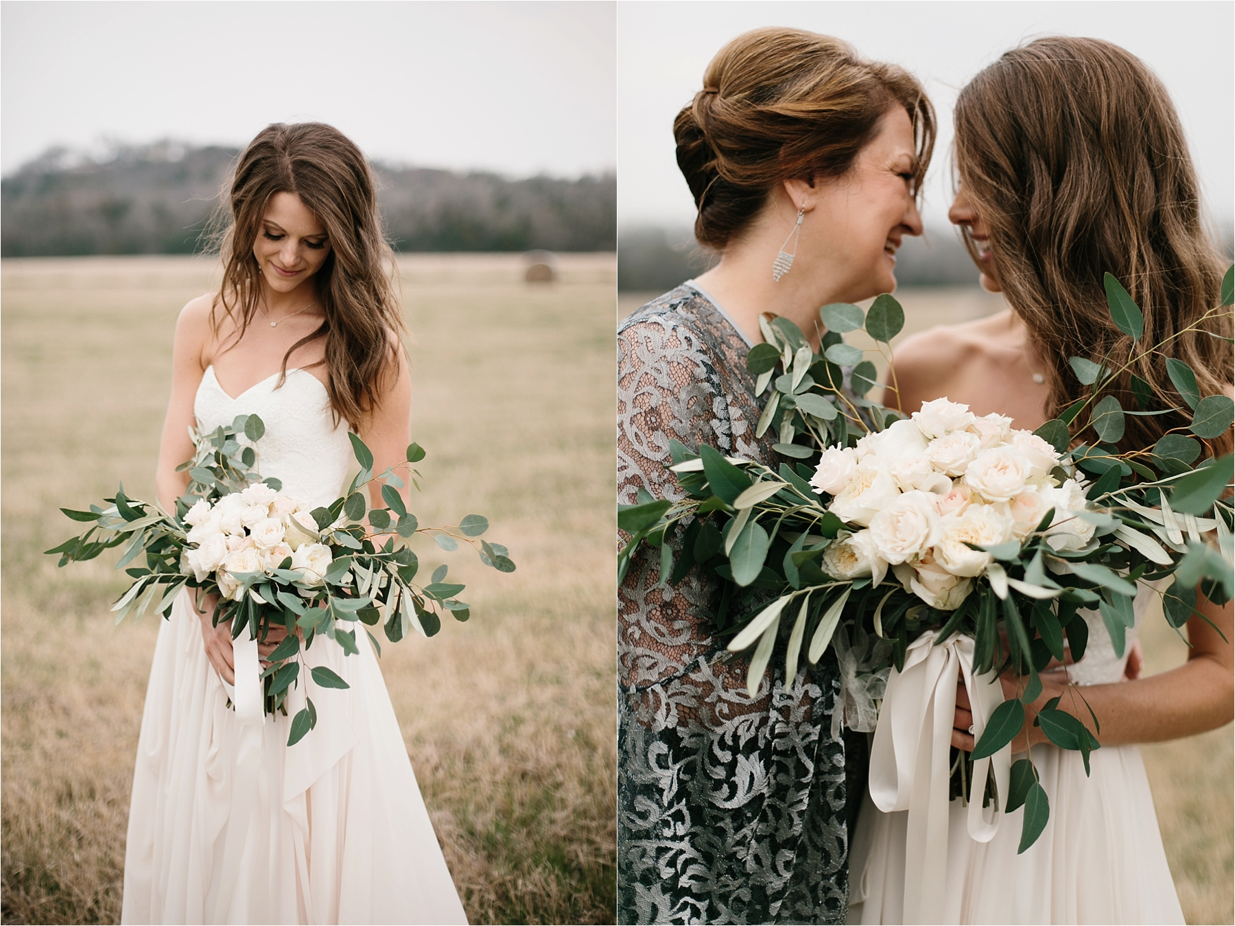 Lauren + Matt __ an intimate, emotional, blush pink, navy blue, and greenery toned wedding accents at the Brooks at Weatherford by North Texas Wedding Photographer Rachel Meagan Photography084