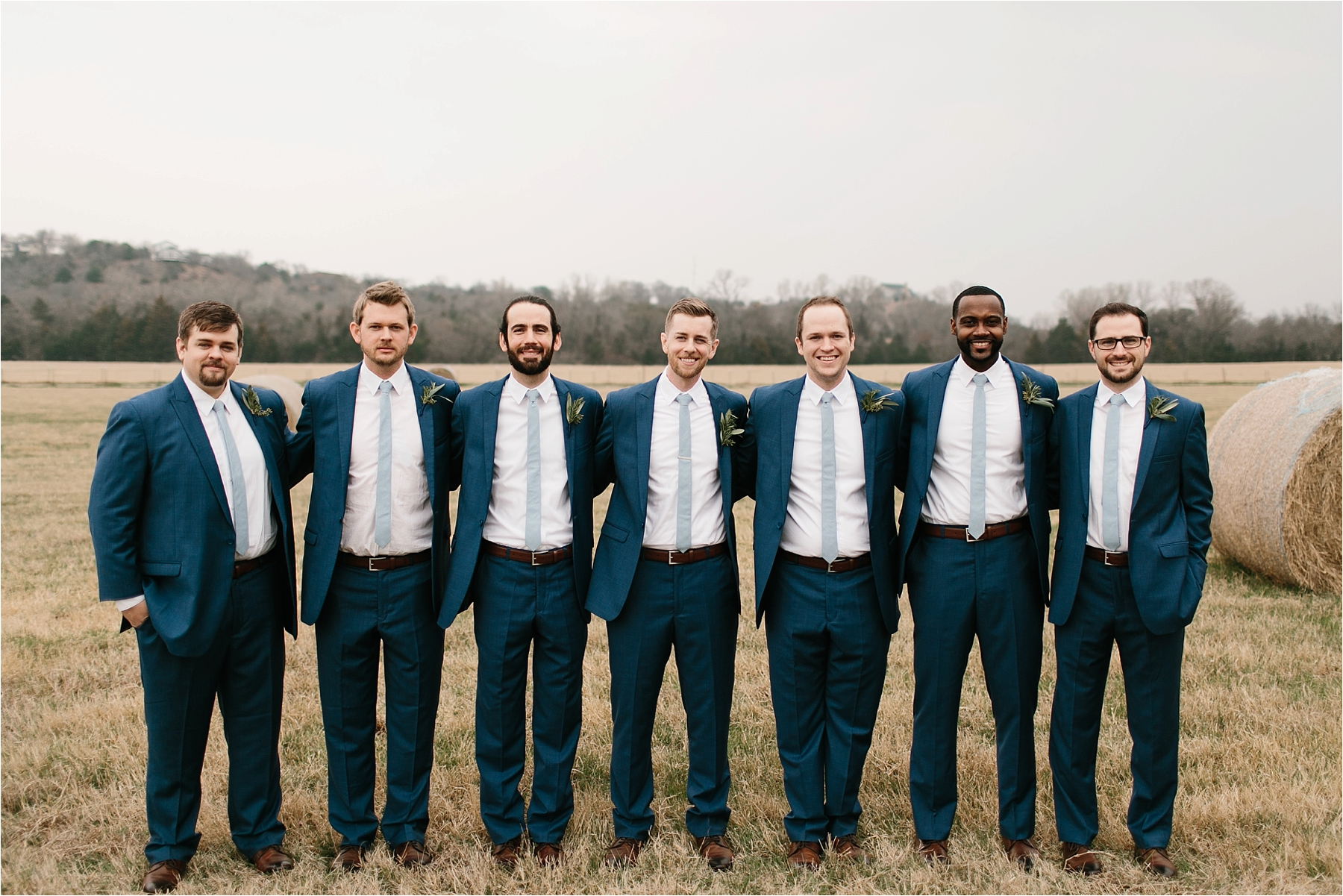 Lauren + Matt __ an intimate, emotional, blush pink, navy blue, and greenery toned wedding accents at the Brooks at Weatherford by North Texas Wedding Photographer Rachel Meagan Photography093