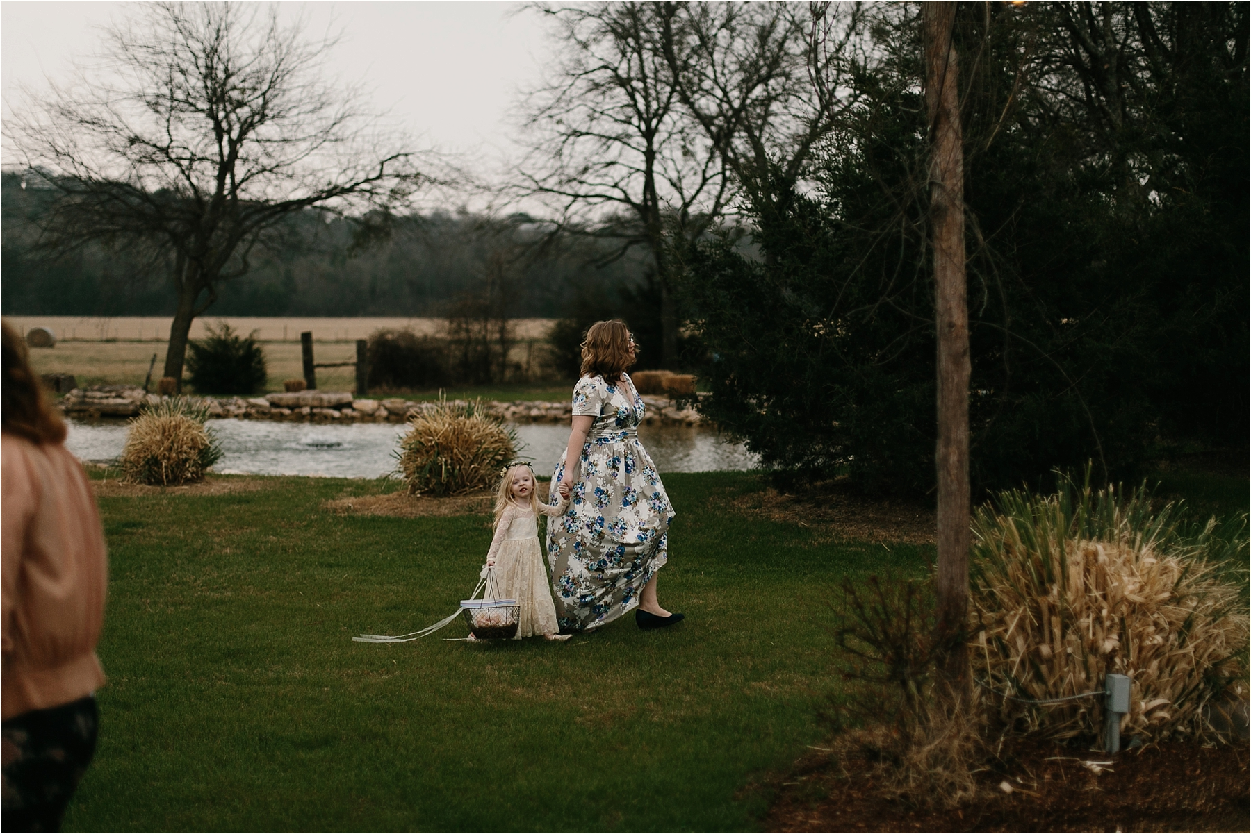 Lauren + Matt __ an intimate, emotional, blush pink, navy blue, and greenery toned wedding accents at the Brooks at Weatherford by North Texas Wedding Photographer Rachel Meagan Photography095