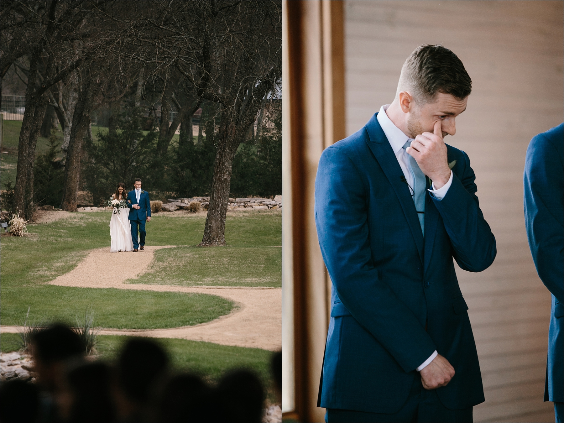 Lauren + Matt __ an intimate, emotional, blush pink, navy blue, and greenery toned wedding accents at the Brooks at Weatherford by North Texas Wedding Photographer Rachel Meagan Photography108
