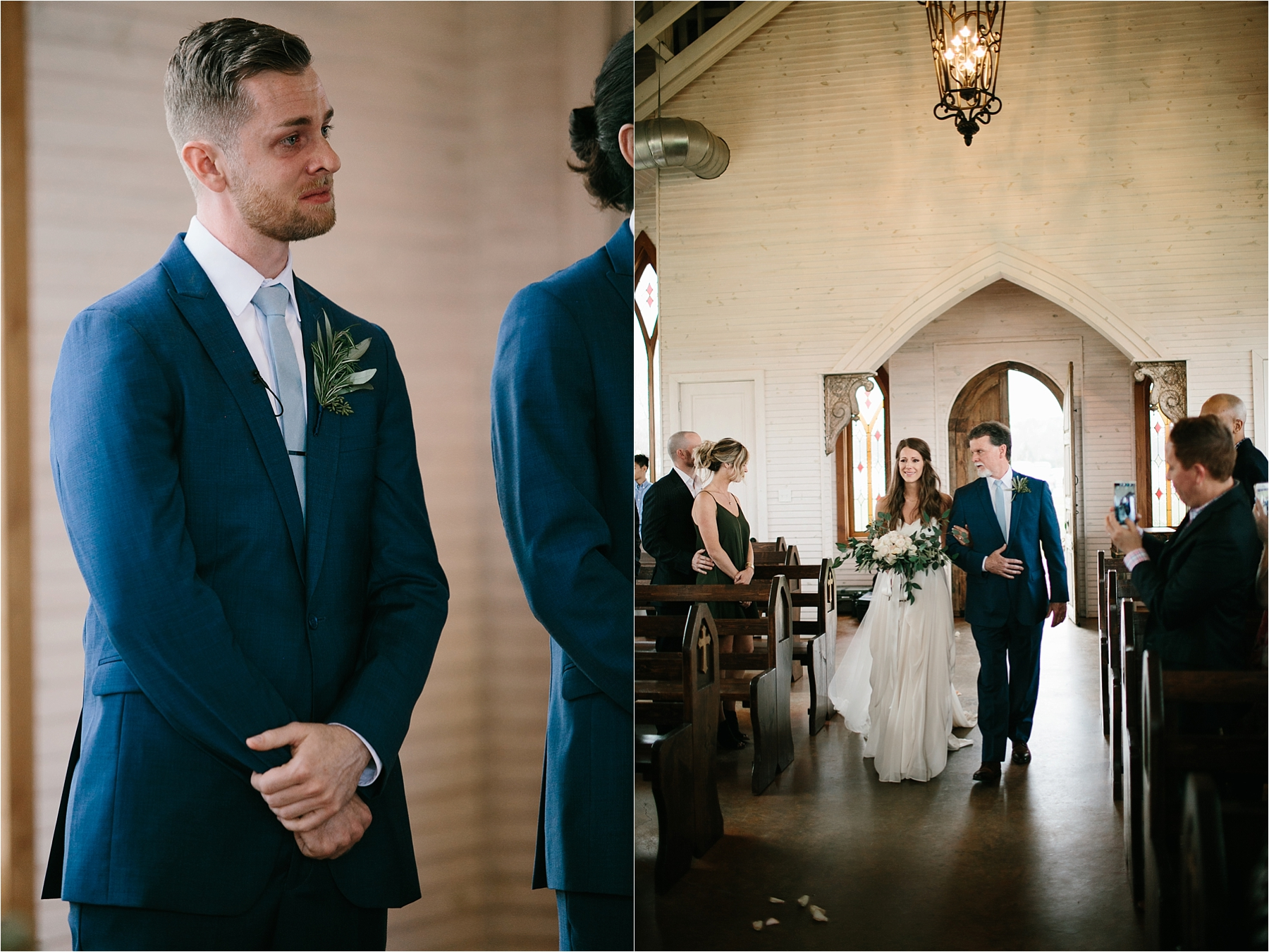 Lauren + Matt __ an intimate, emotional, blush pink, navy blue, and greenery toned wedding accents at the Brooks at Weatherford by North Texas Wedding Photographer Rachel Meagan Photography111