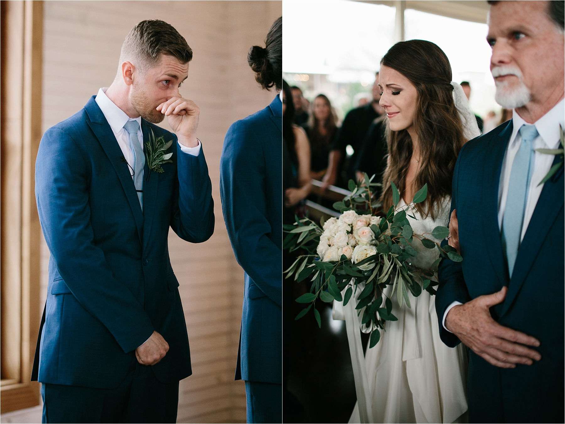 Lauren + Matt __ an intimate, emotional, blush pink, navy blue, and greenery toned wedding accents at the Brooks at Weatherford by North Texas Wedding Photographer Rachel Meagan Photography113