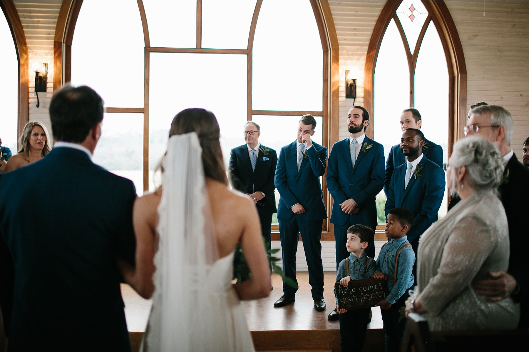 Lauren + Matt __ an intimate, emotional, blush pink, navy blue, and greenery toned wedding accents at the Brooks at Weatherford by North Texas Wedding Photographer Rachel Meagan Photography116