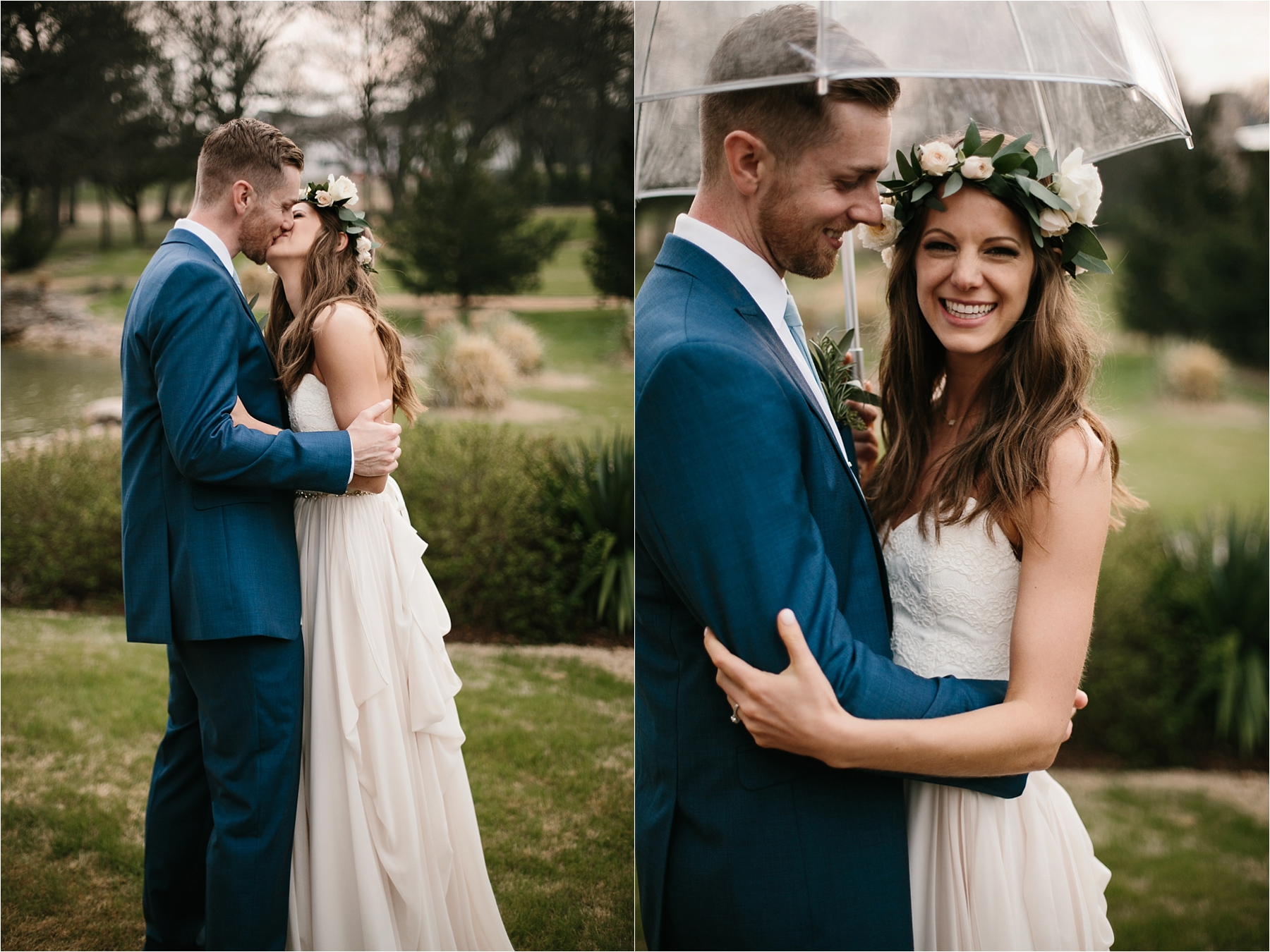 Lauren + Matt __ an intimate, emotional, blush pink, navy blue, and greenery toned wedding accents at the Brooks at Weatherford by North Texas Wedding Photographer Rachel Meagan Photography145