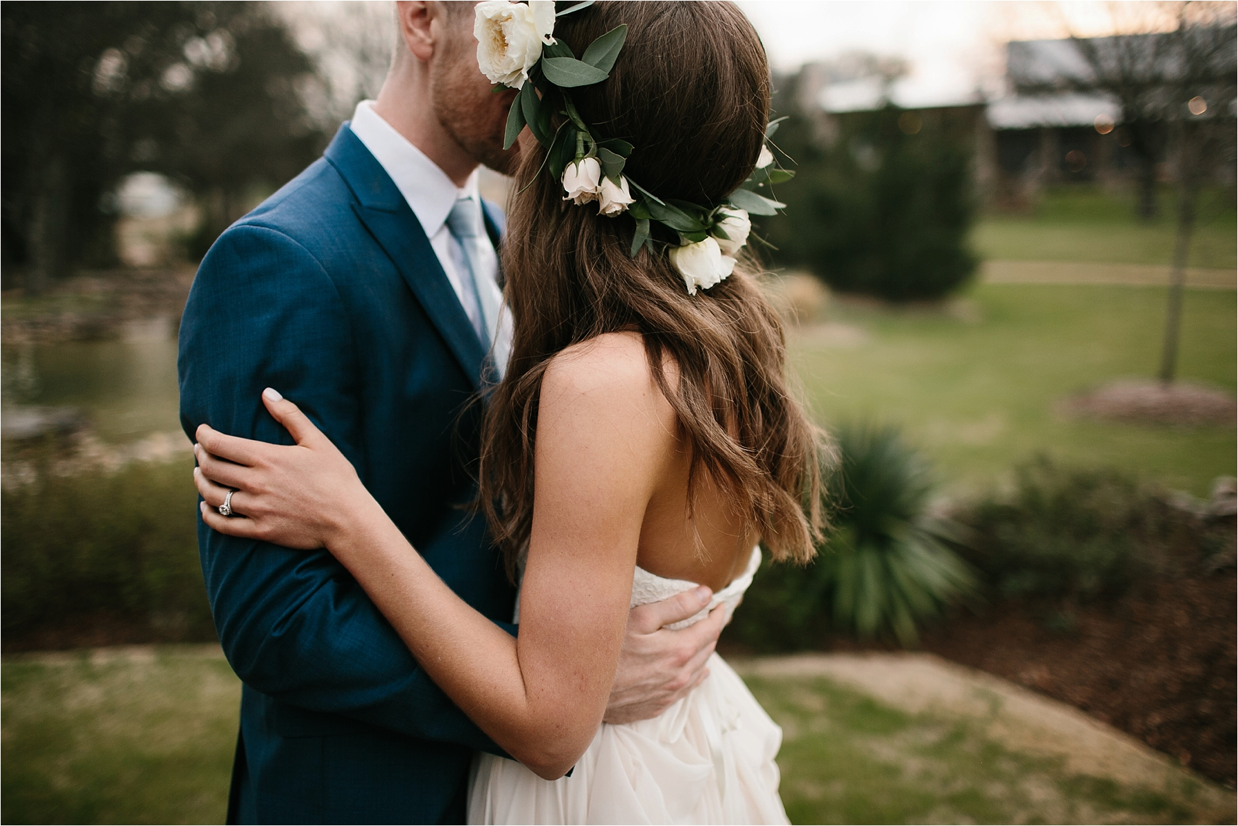 Lauren + Matt __ an intimate, emotional, blush pink, navy blue, and greenery toned wedding accents at the Brooks at Weatherford by North Texas Wedding Photographer Rachel Meagan Photography148